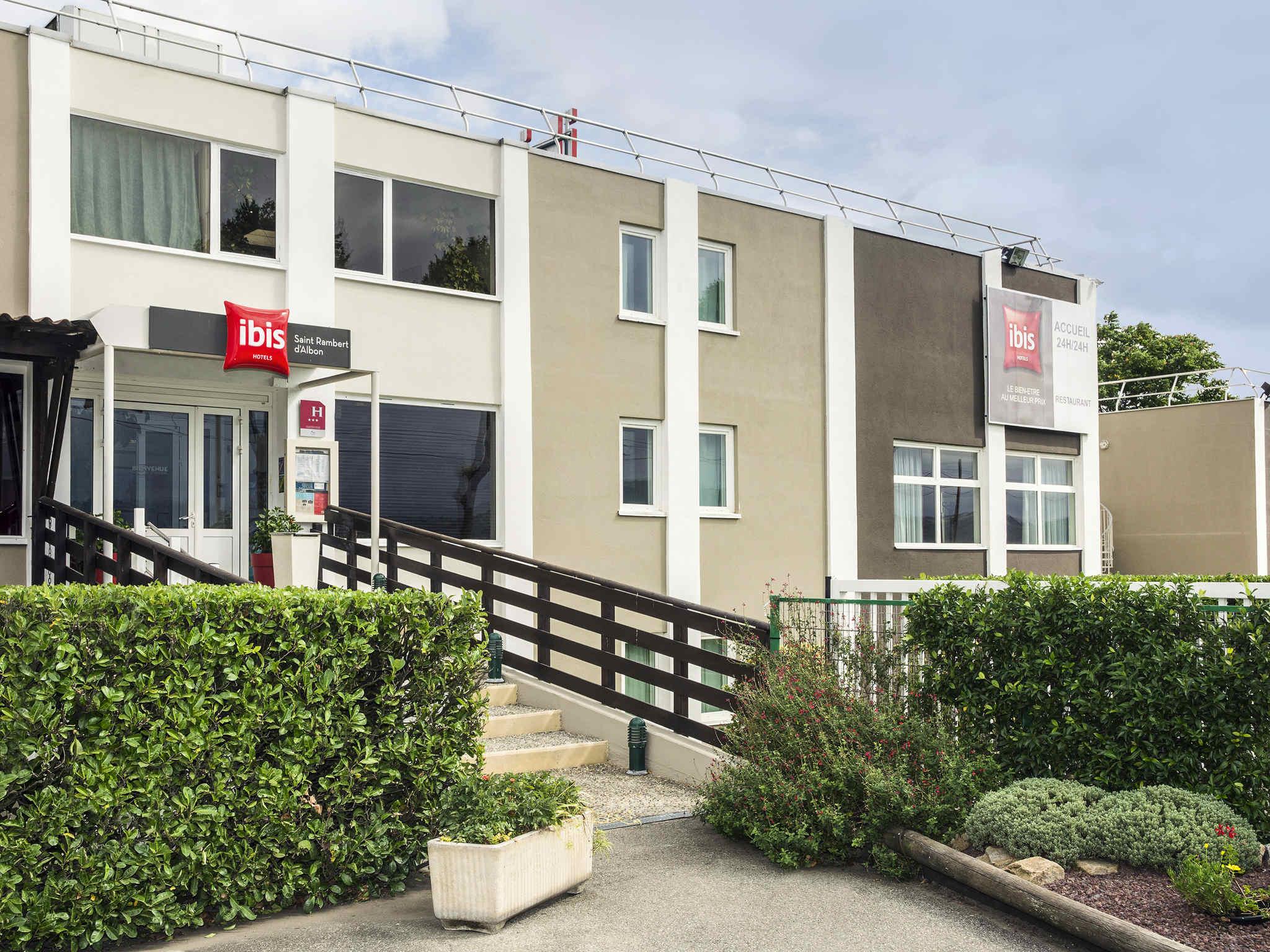 Hotell – ibis Lyon Sud Saint-Rambert-d'Albon