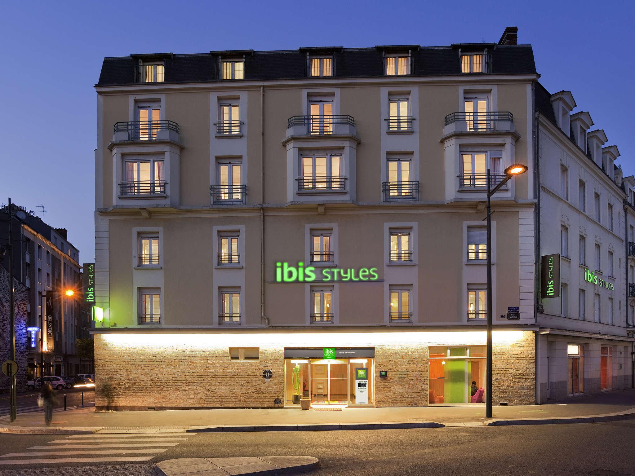 Отель — ibis Styles Ренн Центр Северный Вокзал
