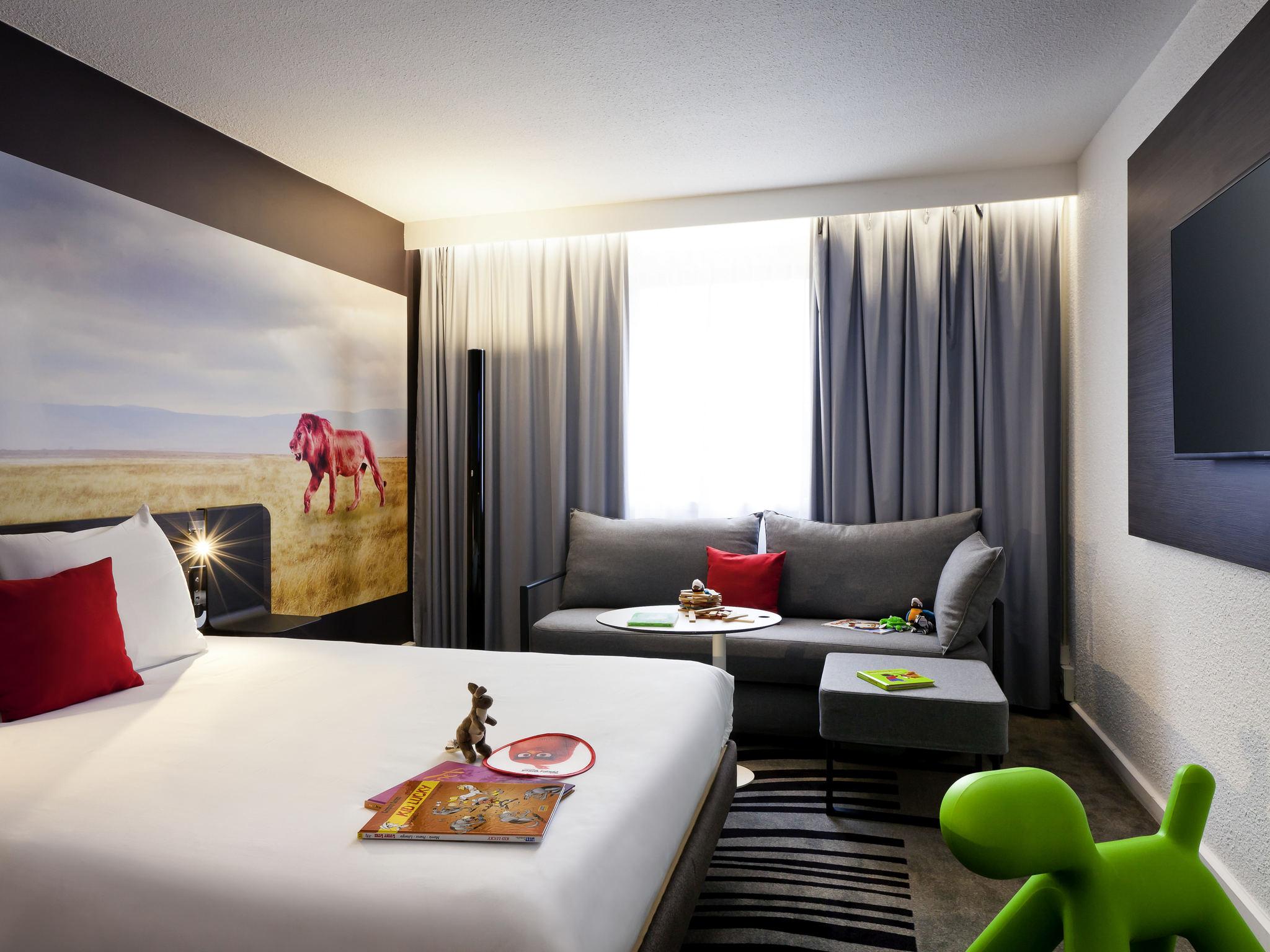 酒店 – 诺富特里昂热尔兰博物馆区酒店