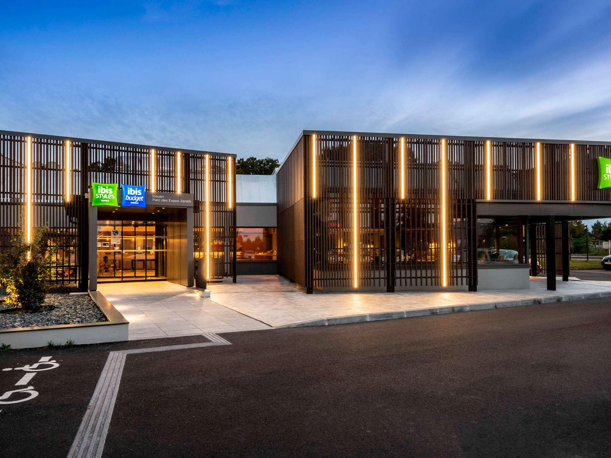 Hotell – ibis Rouen Parc des Expos Zénith