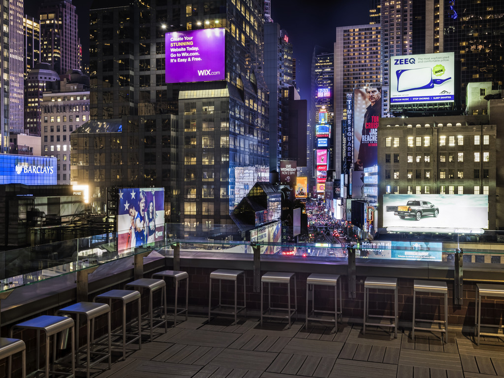 Hotel new york city novotel new york times square for Things to do around times square