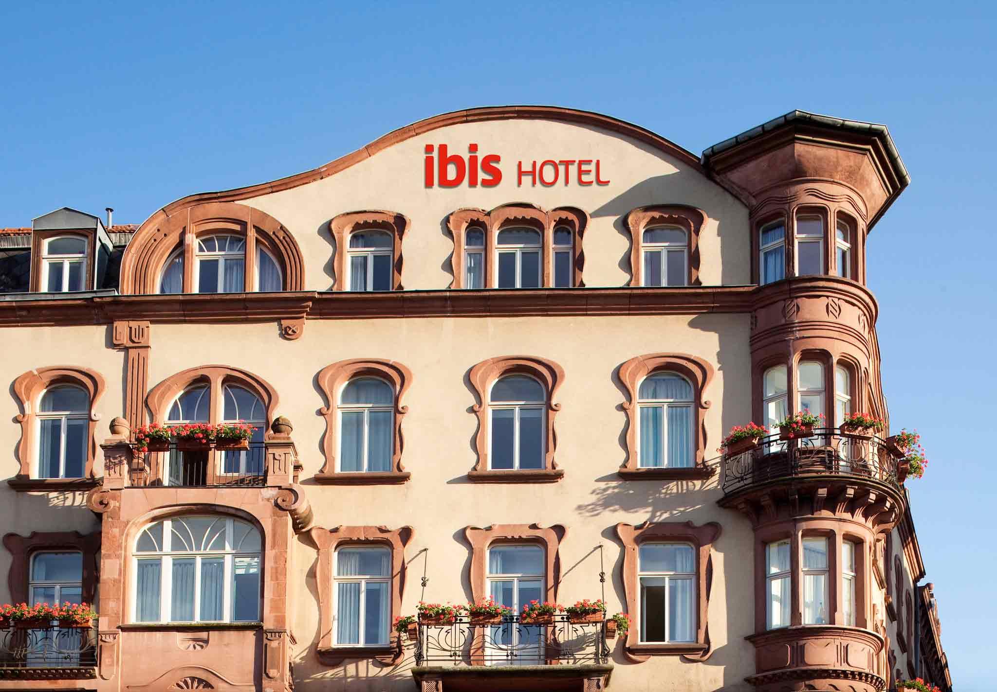 Отель — ibis Метц Центральный Вокзал
