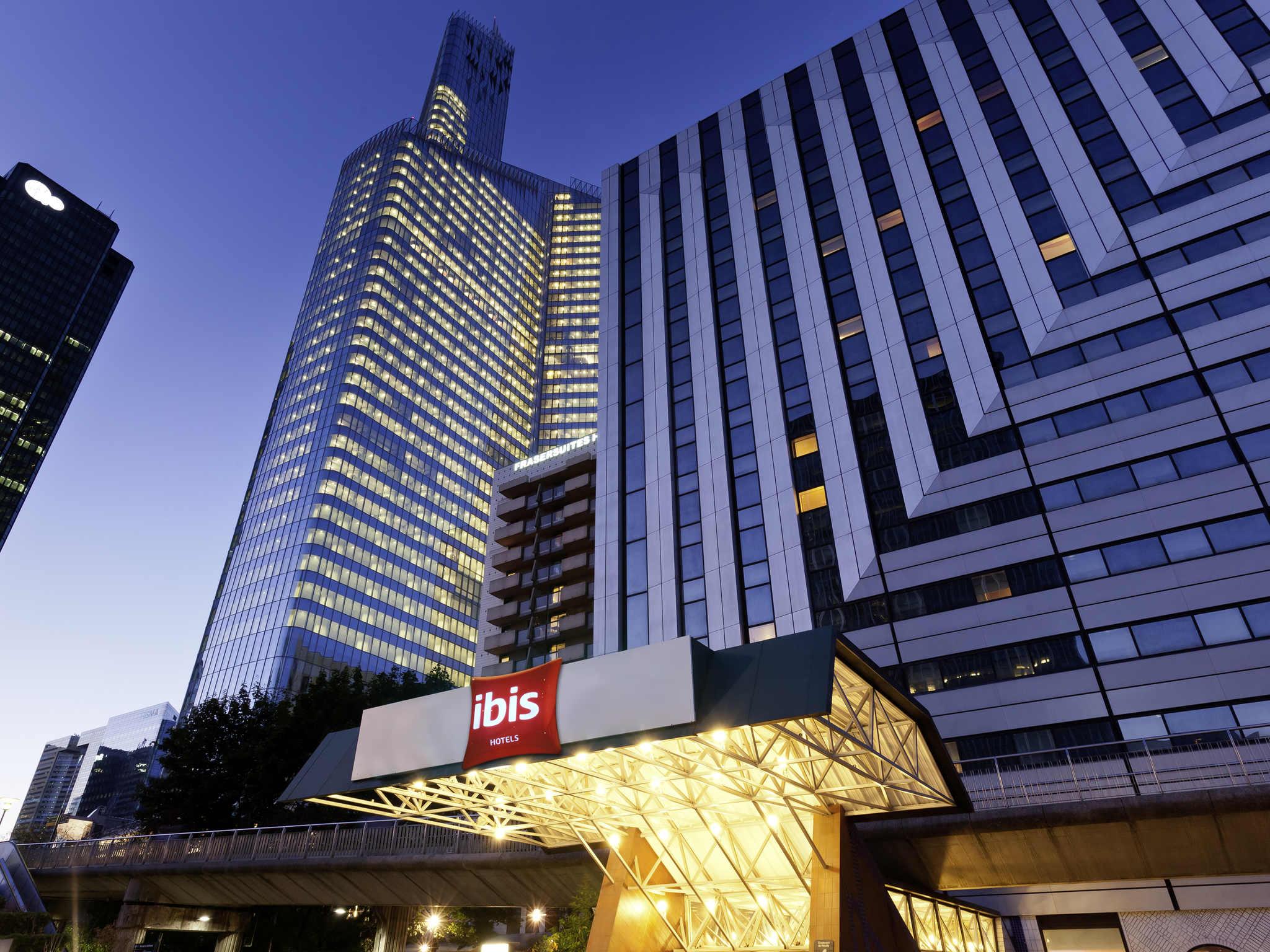 Отель — ibis Париж Ля-Дефанс Центр