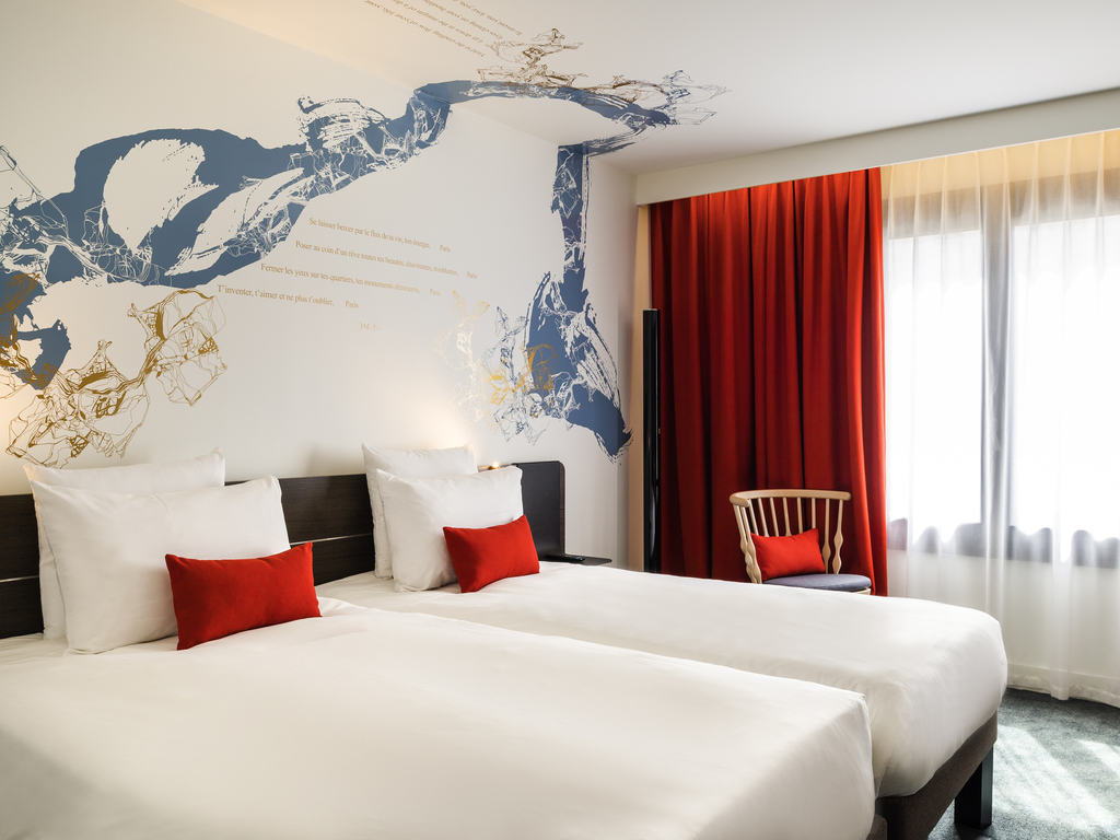 Hotel paris novotel paris les halles for Hotel paris x