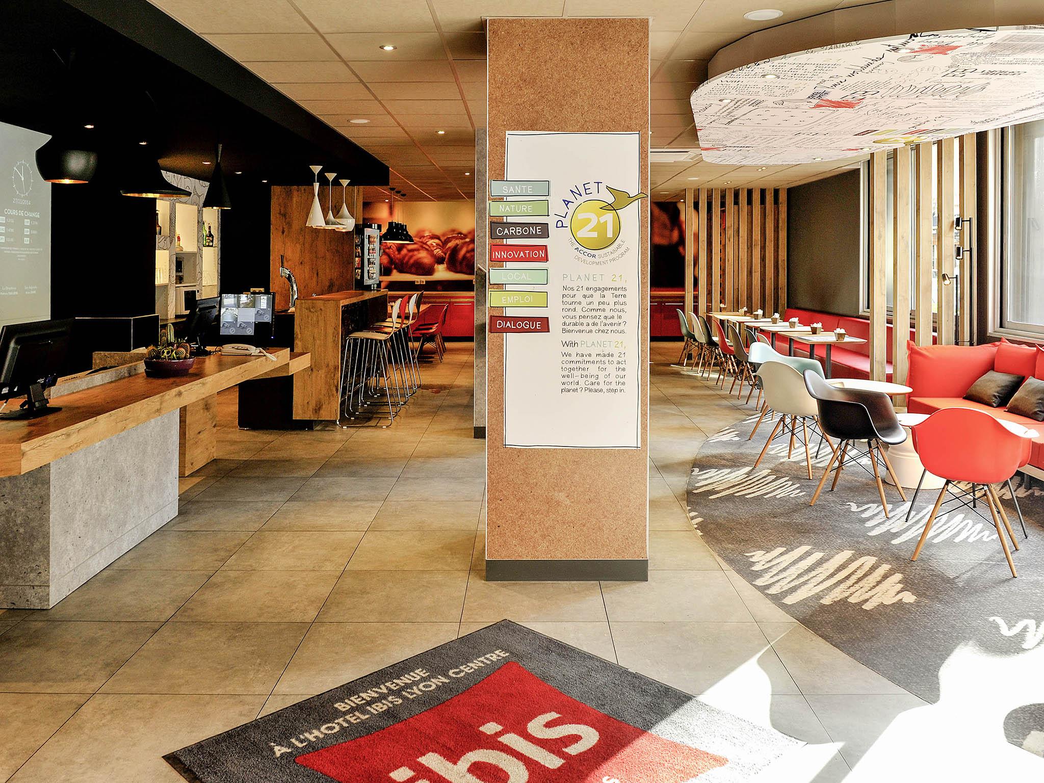 Hotell – ibis Lyon Centre