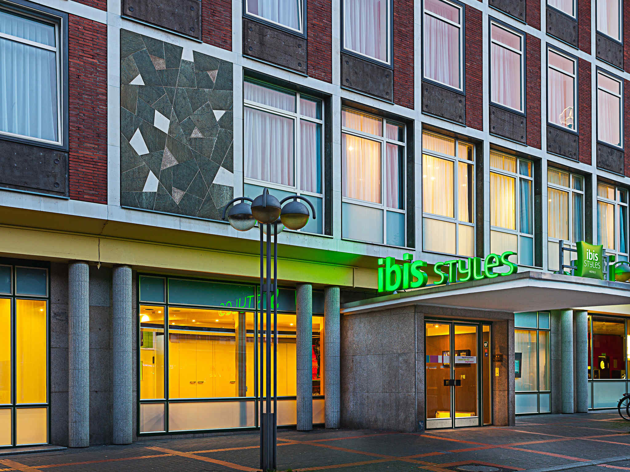 Отель — ibis Styles Bochum Hauptbahnhof