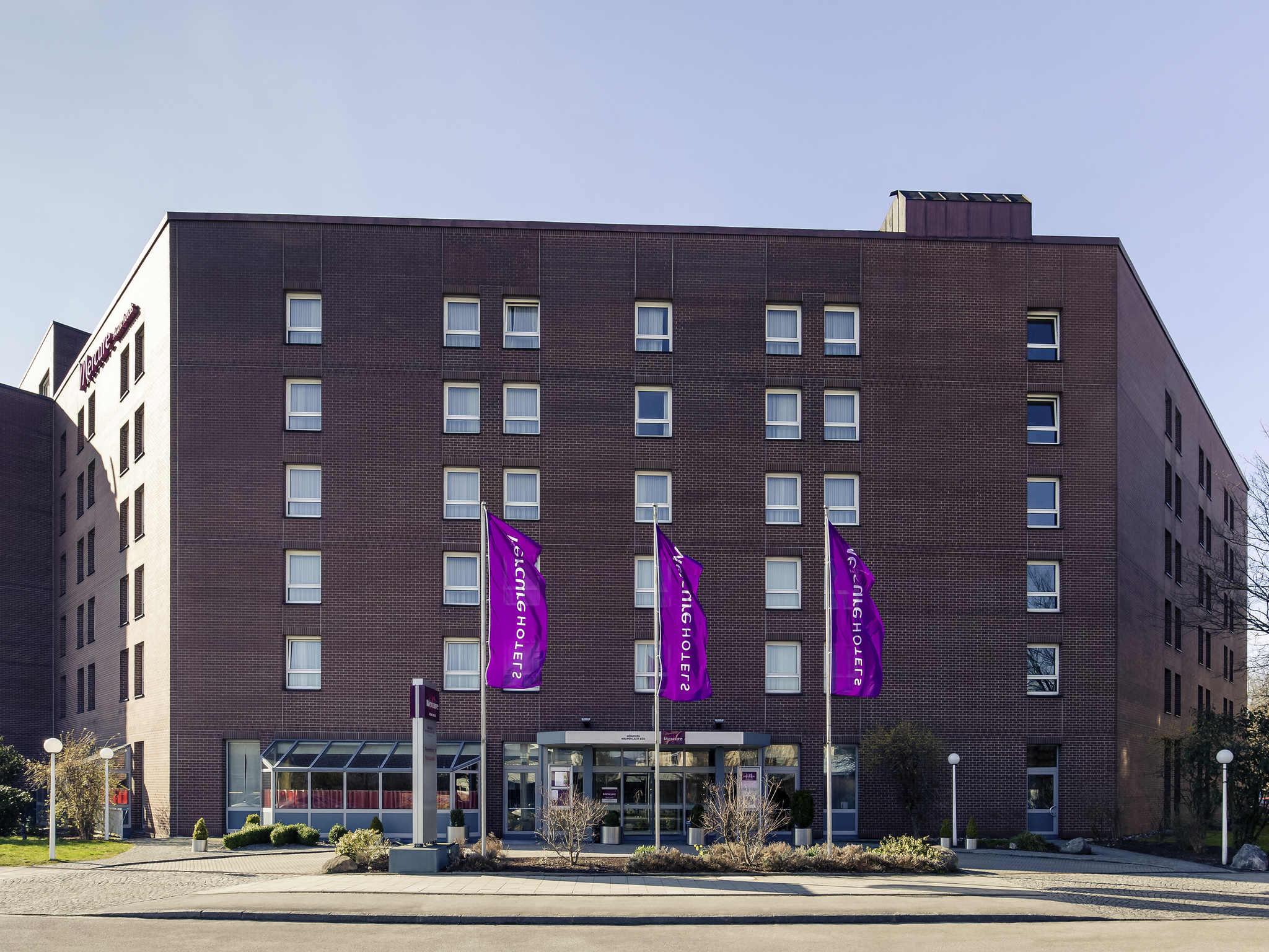โรงแรม – โรงแรมเมอร์เคียว มุนเช่น นอยเพอร์ลาช ซุด