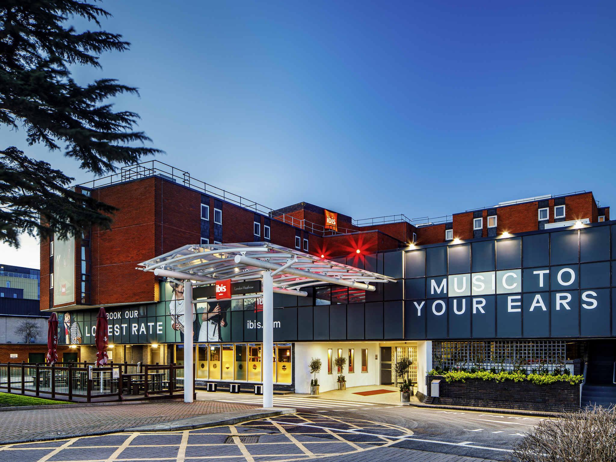 โรงแรม – ไอบิส ลอนดอน ฮีทโธรว์ แอร์พอร์ต