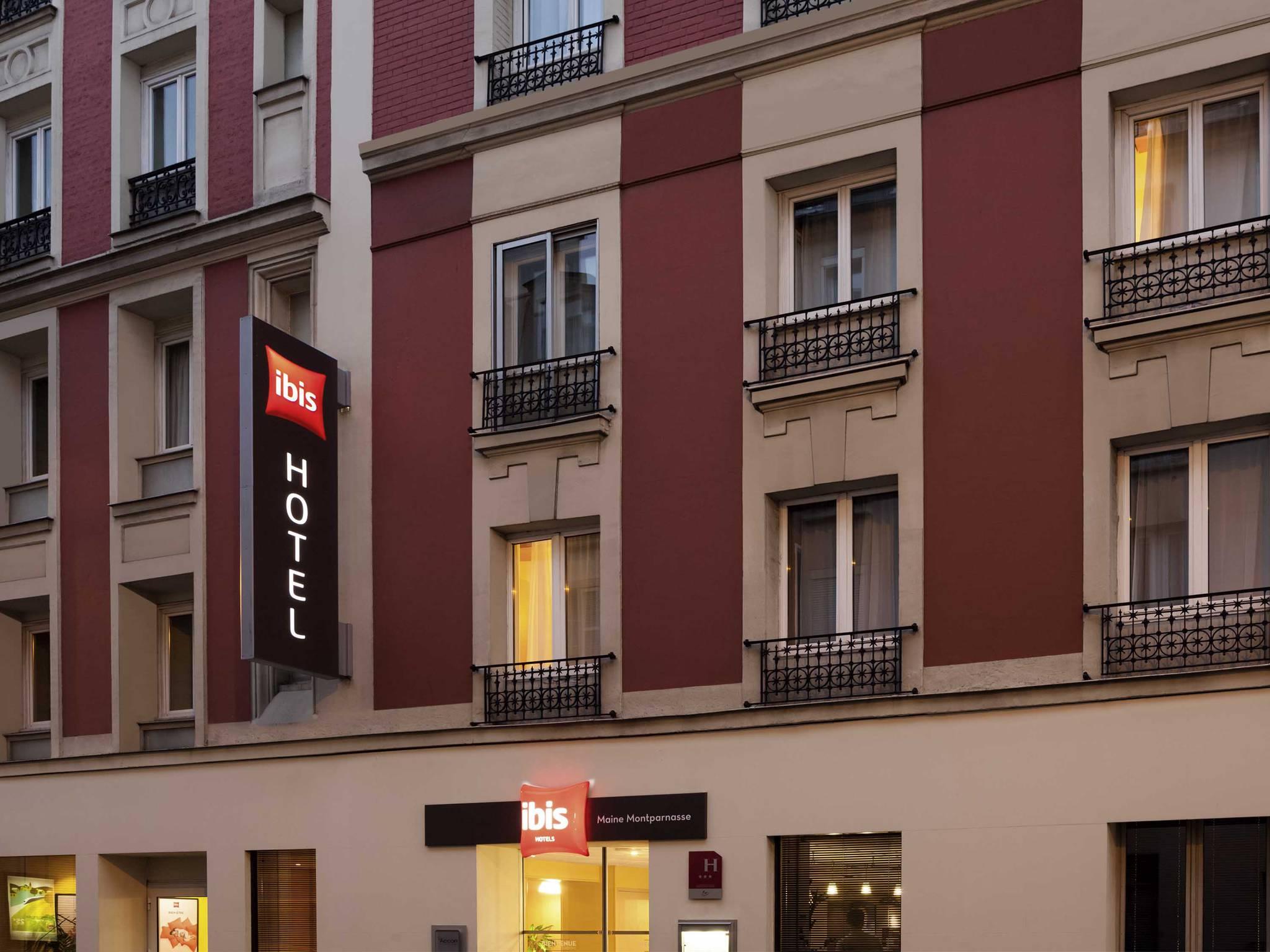 Отель — ibis Париж Мен-Монпарнас 14 округ