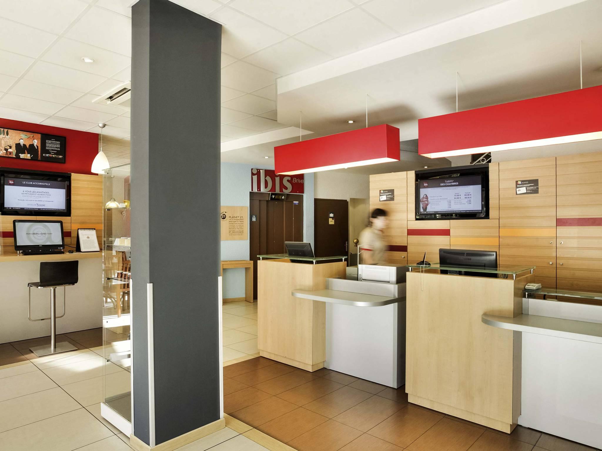 Hotell – ibis Brive Centre