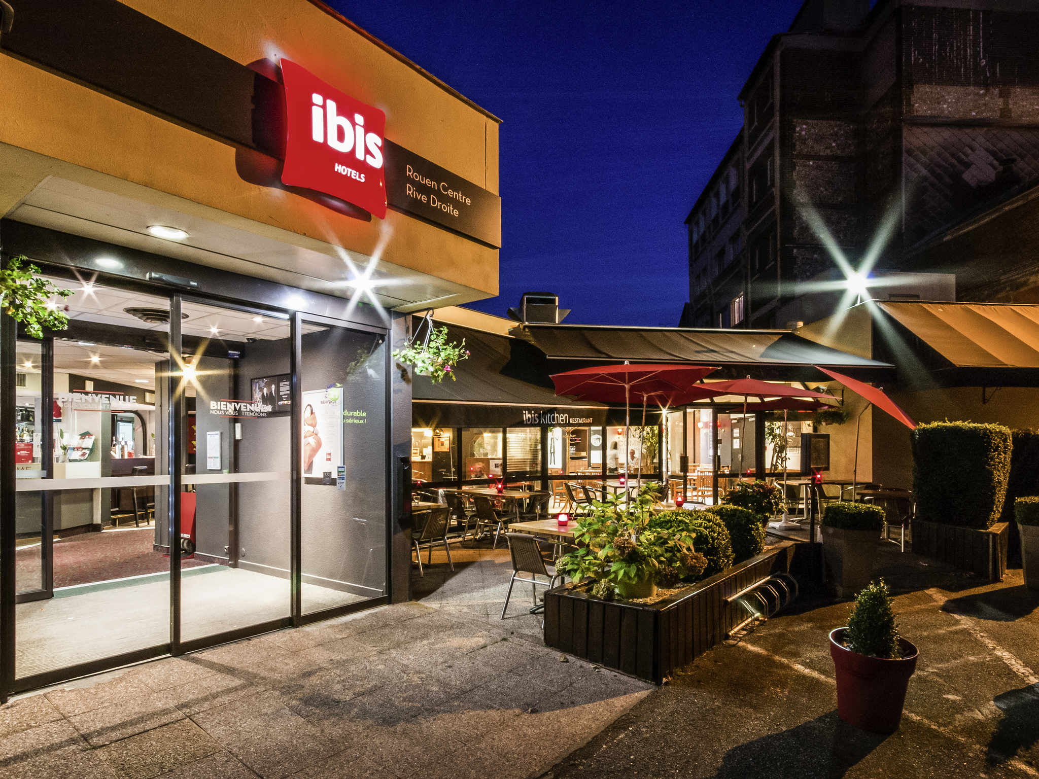 Otel – ibis Rouen Centre Rive Droite