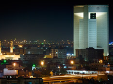 Centrally located in Jeddah's business and diplomatic enclave