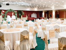 Our Al Hamra Ballroom is one of Jeddah's biggest reception halls