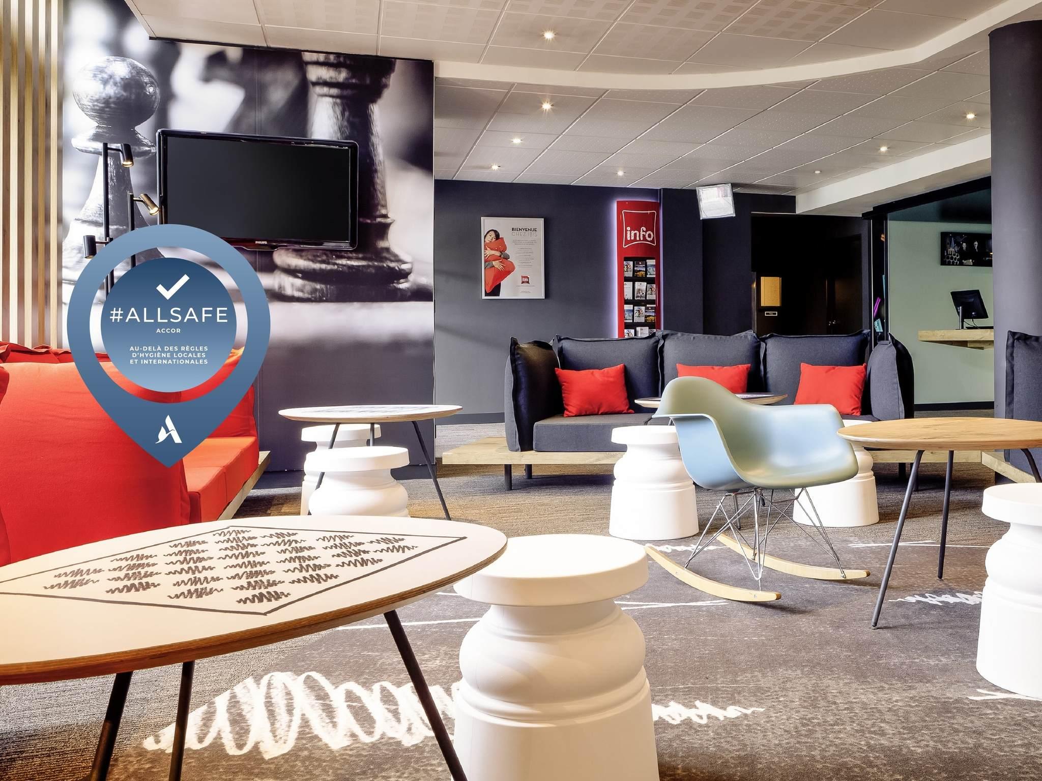 โรงแรม – ibis Lyon Bron Eurexpo