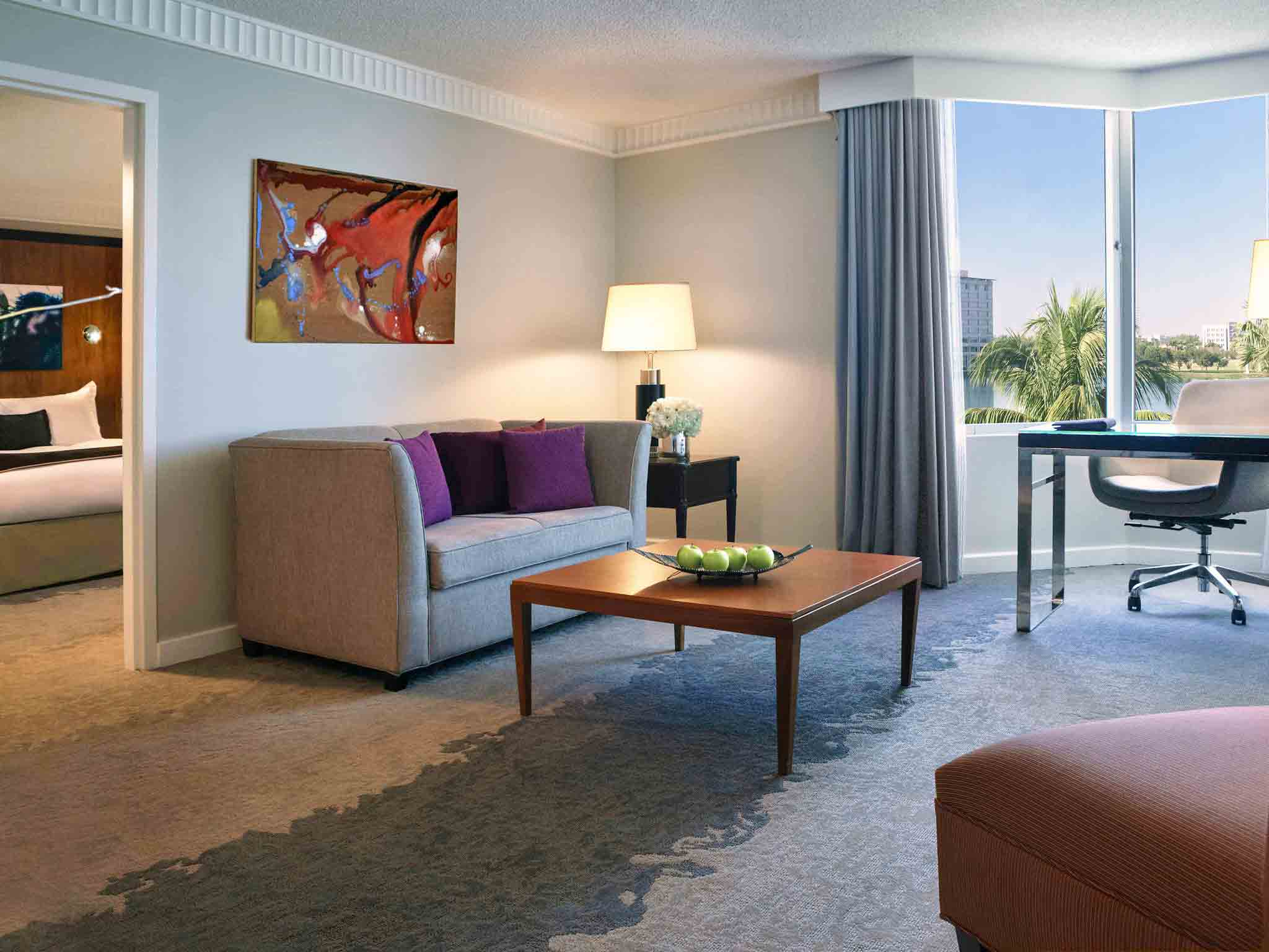 Miami Airport Hotels Pullman Miami Hotel Hotels Near MIA - 8 awesome extras in luxury hotel rooms