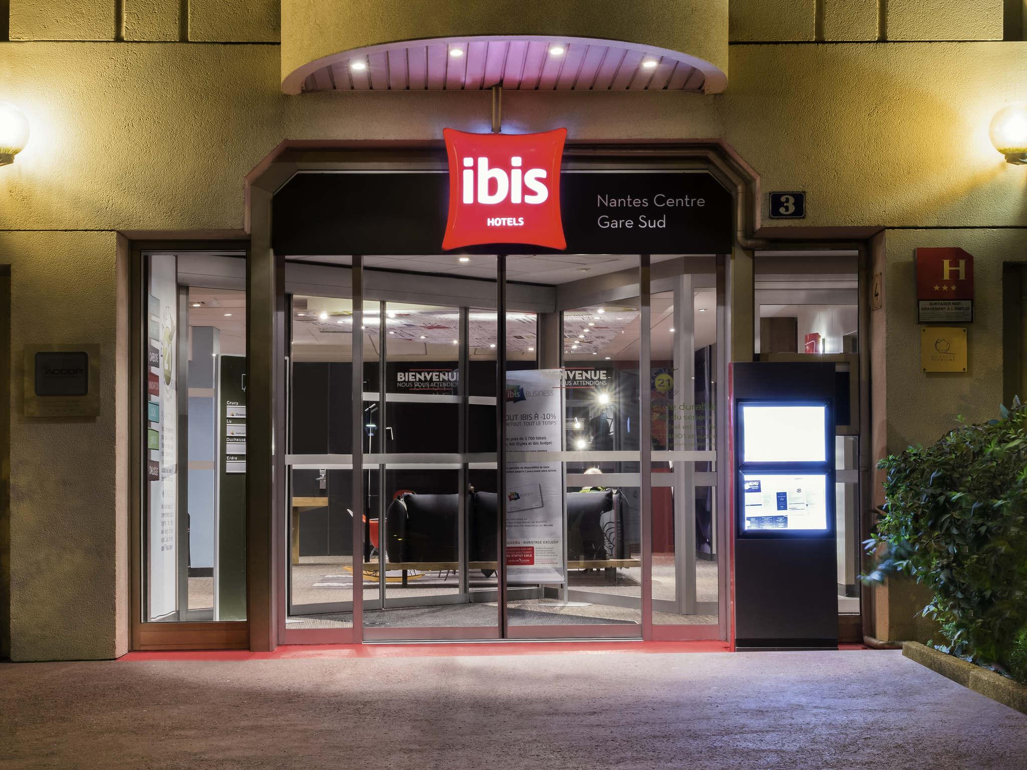 Отель — ibis Нант Центр Вокзал Юг