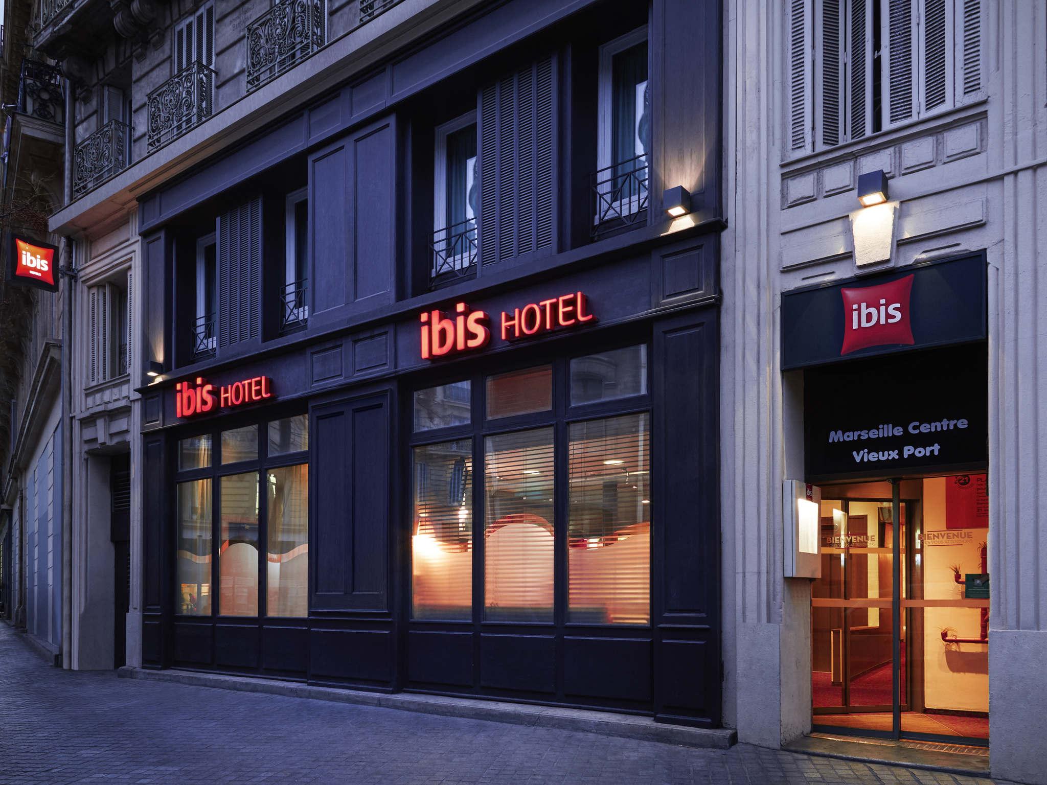 Hotel In MARSEILLE Ibis Marseille Centre Vieux Port - Hotel marseille vieux port pas cher
