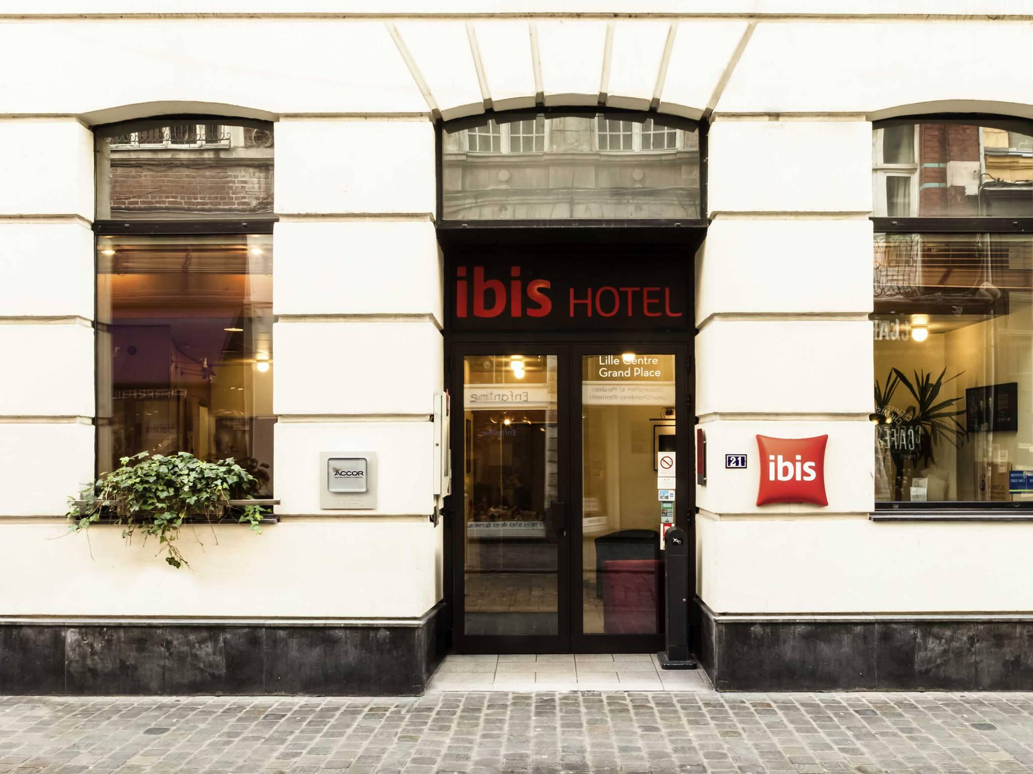 Otel – ibis Lille Centre Grand Place
