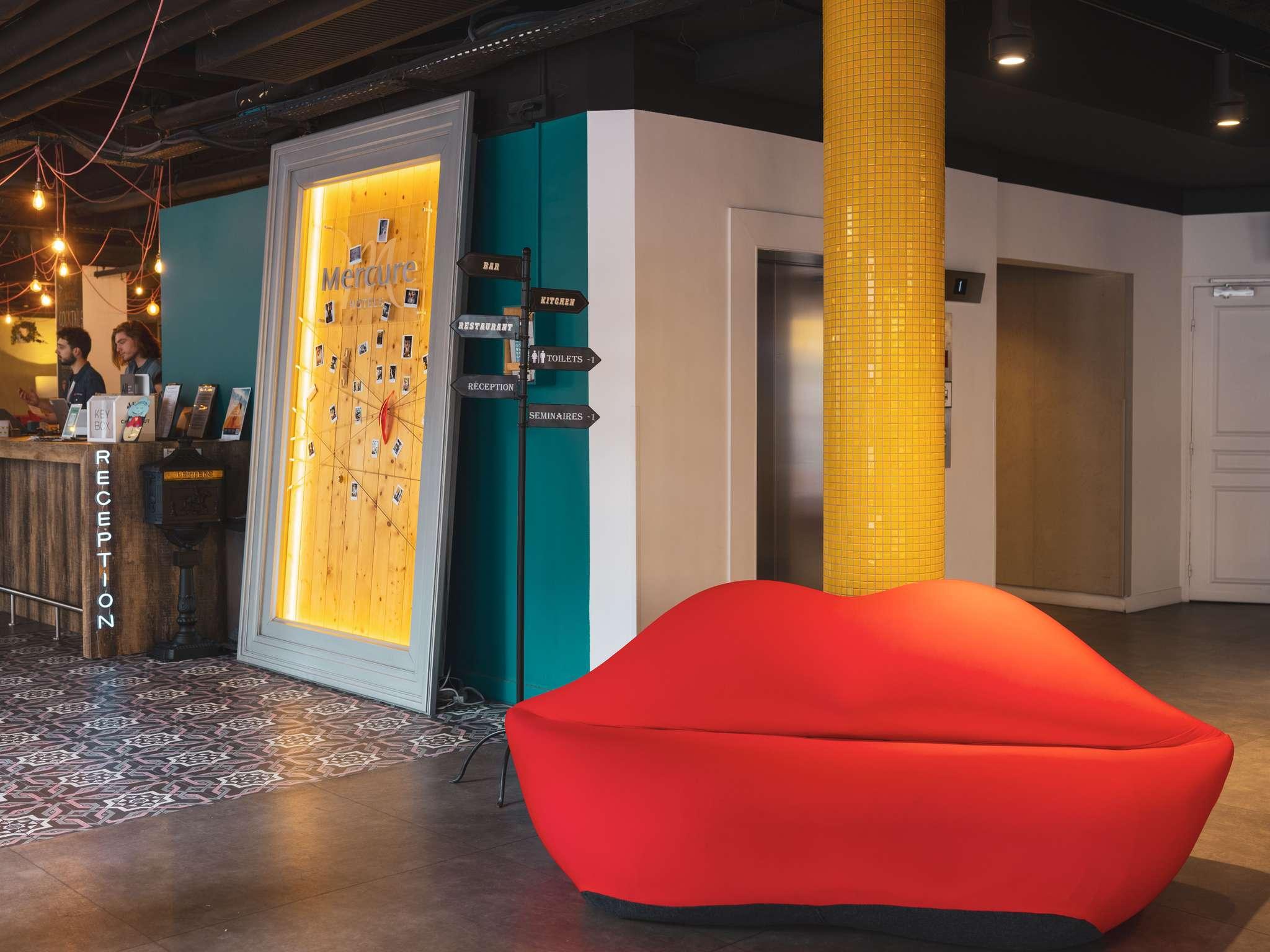 โรงแรม – โรงแรมเมอร์เคียว ปารีส มงต์ปาร์นาส