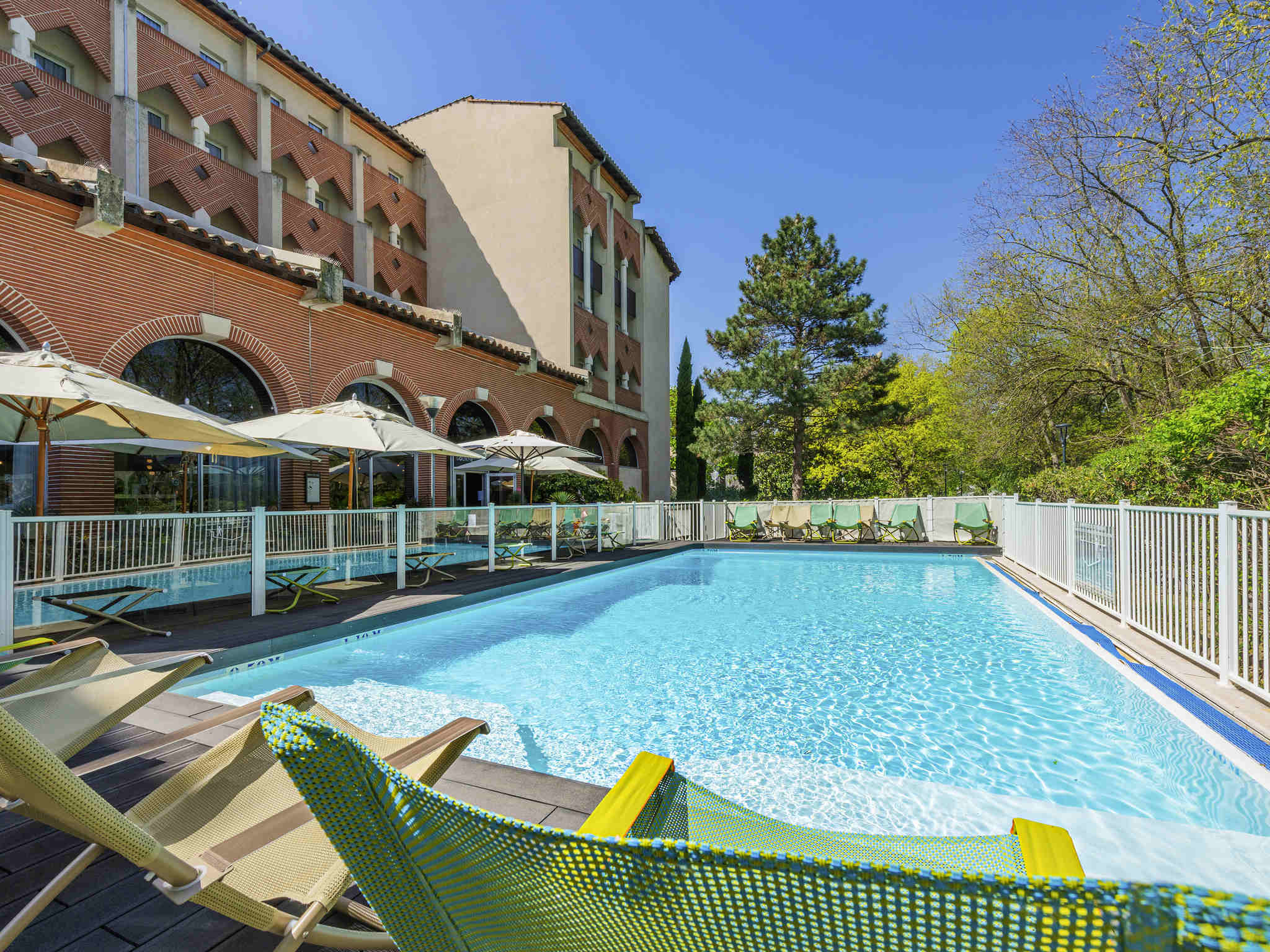 Отель — Novotel Тулуза Центр Компан Кафарели