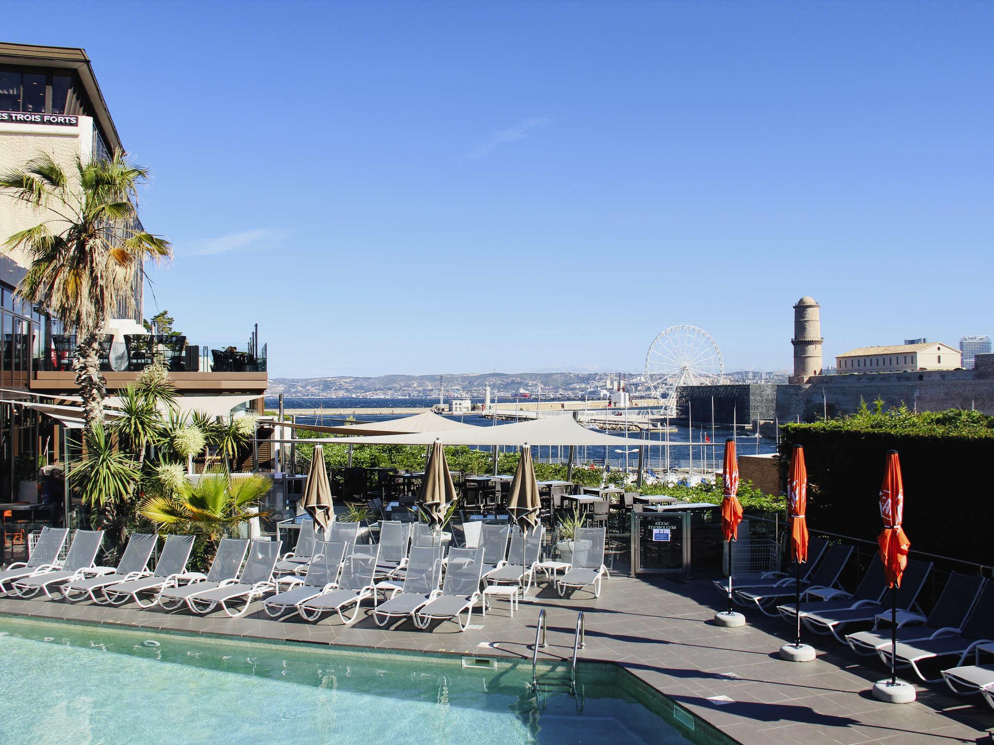 Hotel – Novotel Marselha Vieux-Port