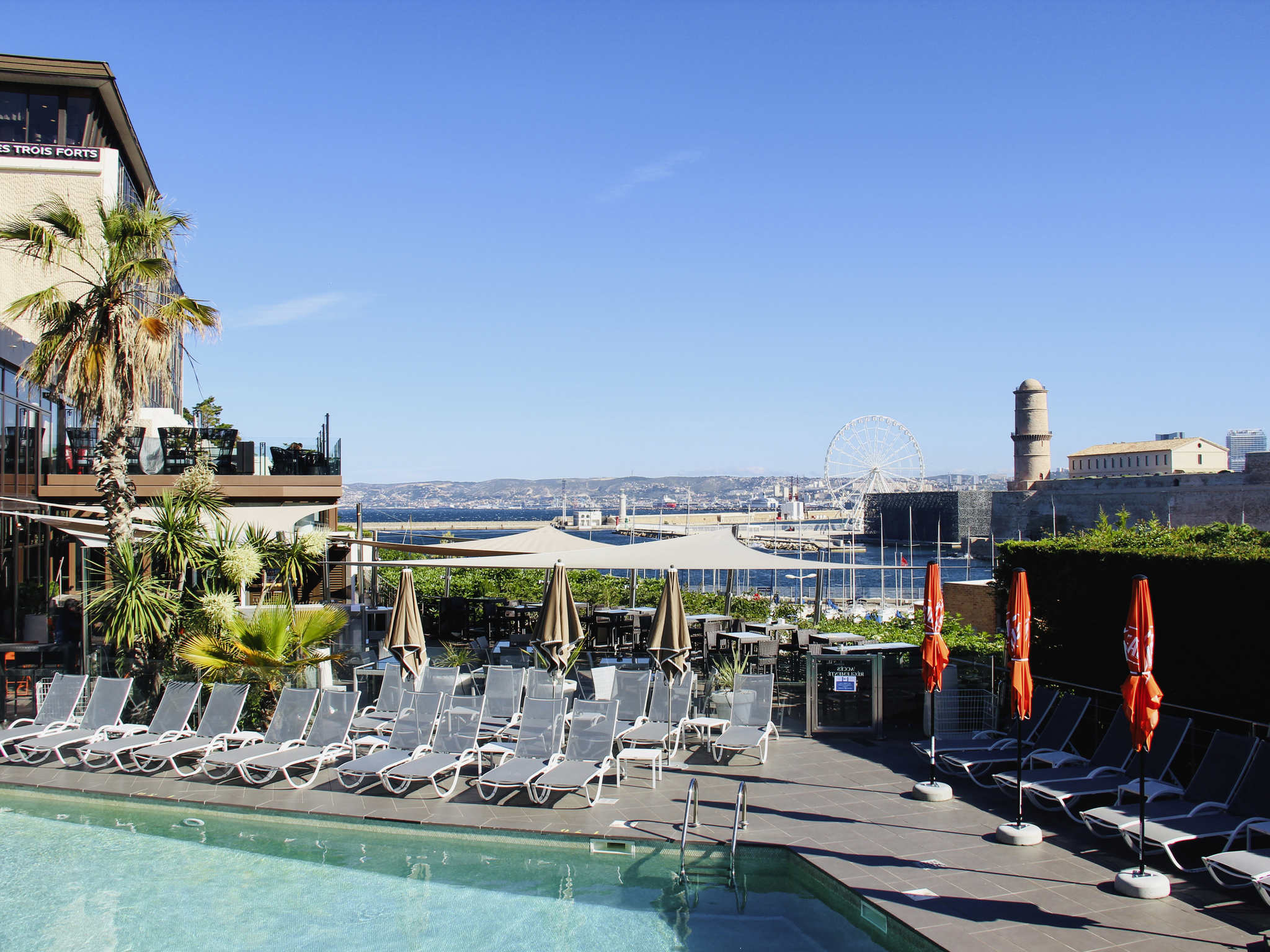 โรงแรม – Novotel Marseille Vieux-Port