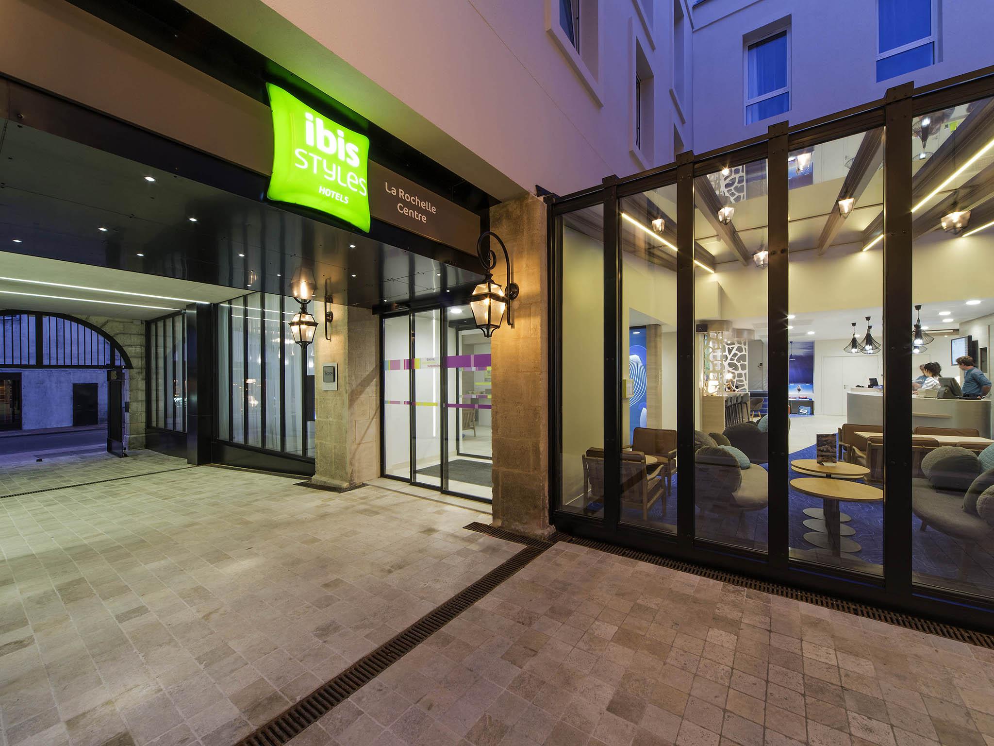 Otel – ibis Styles La Rochelle Centre