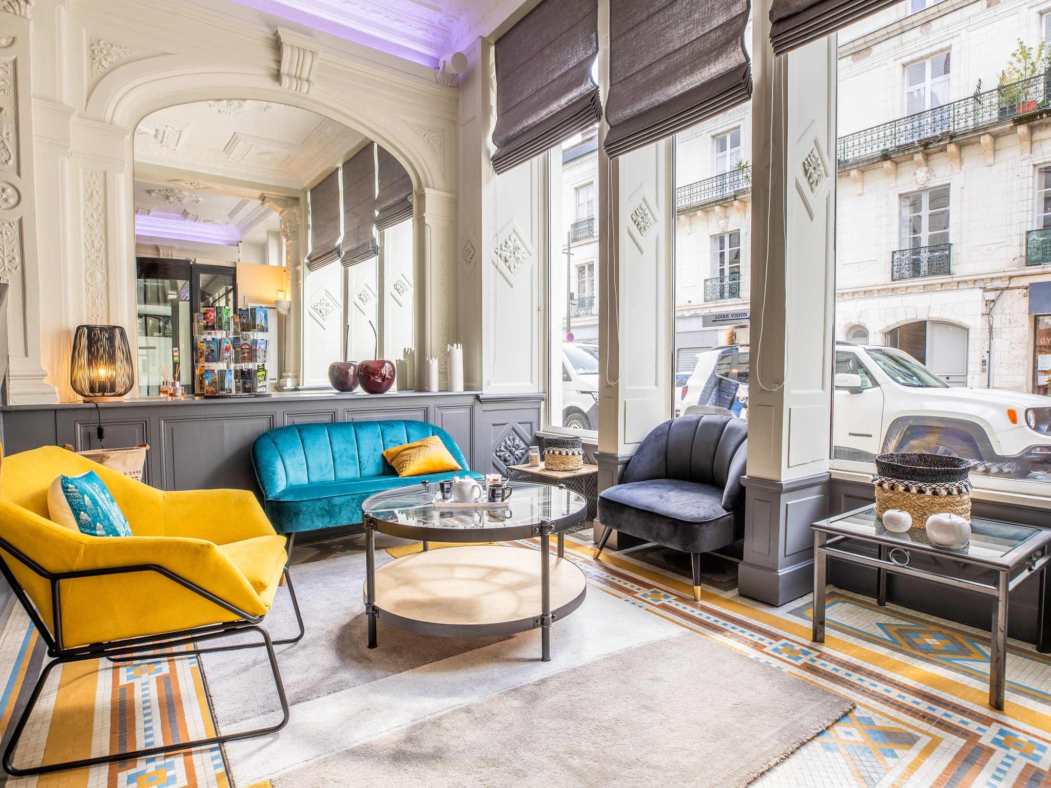 hotel a blois ibis blois centre ch teau. Black Bedroom Furniture Sets. Home Design Ideas