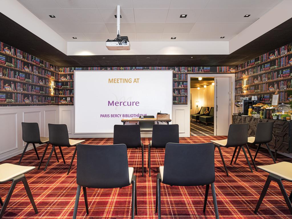 Mercure Paris Bercy Bibliothèque Hotel Meeting Room