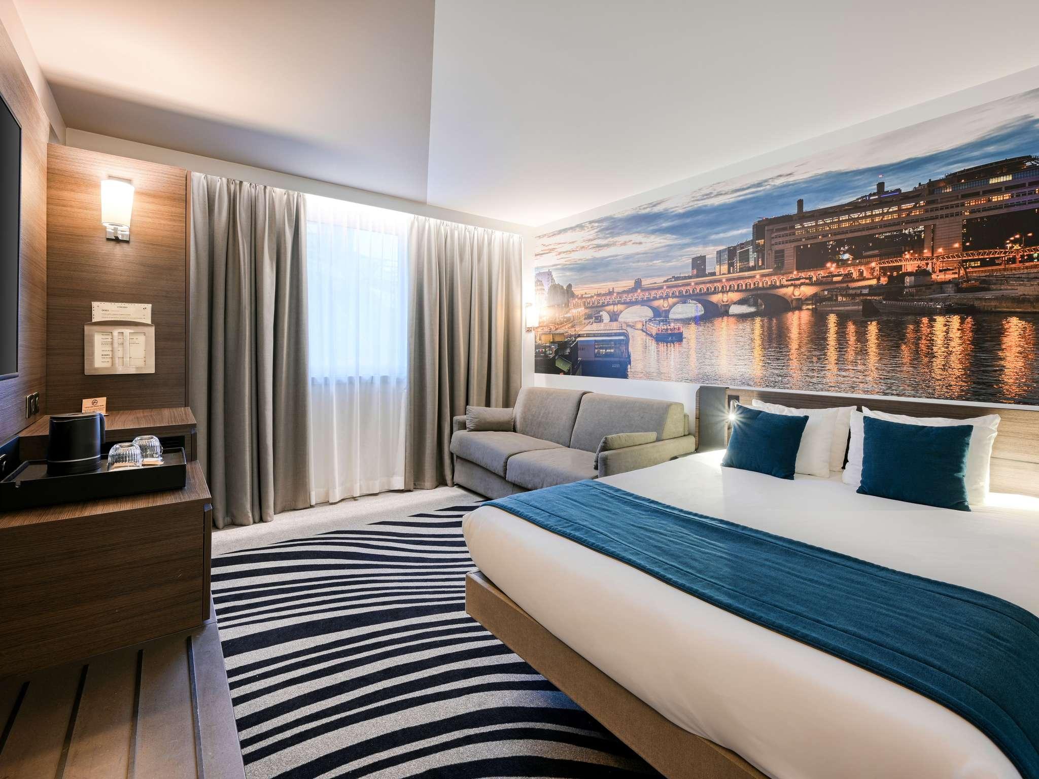 โรงแรม – โนโวเทล ปารีส เซ็นเตอร์ แบร์ซี