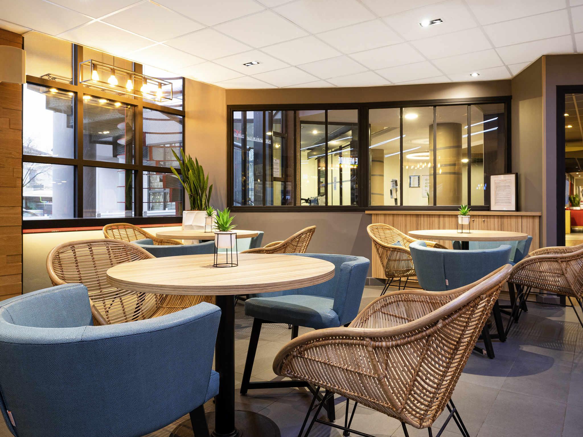 Отель — ibis Бордо Центр Meriadeck