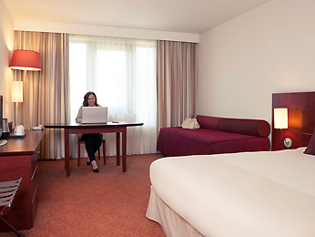 Zimmer - Hotel Mercure Brussels Airport