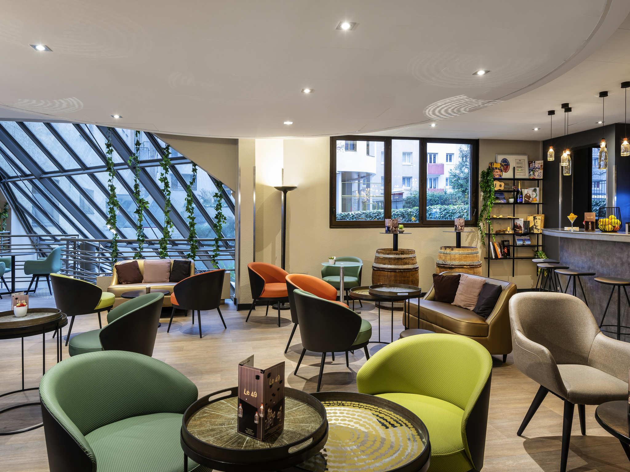 โรงแรม – ไอบิส ปารีส อเลอเซีย มงต์ปาร์นาส 14เอเม่