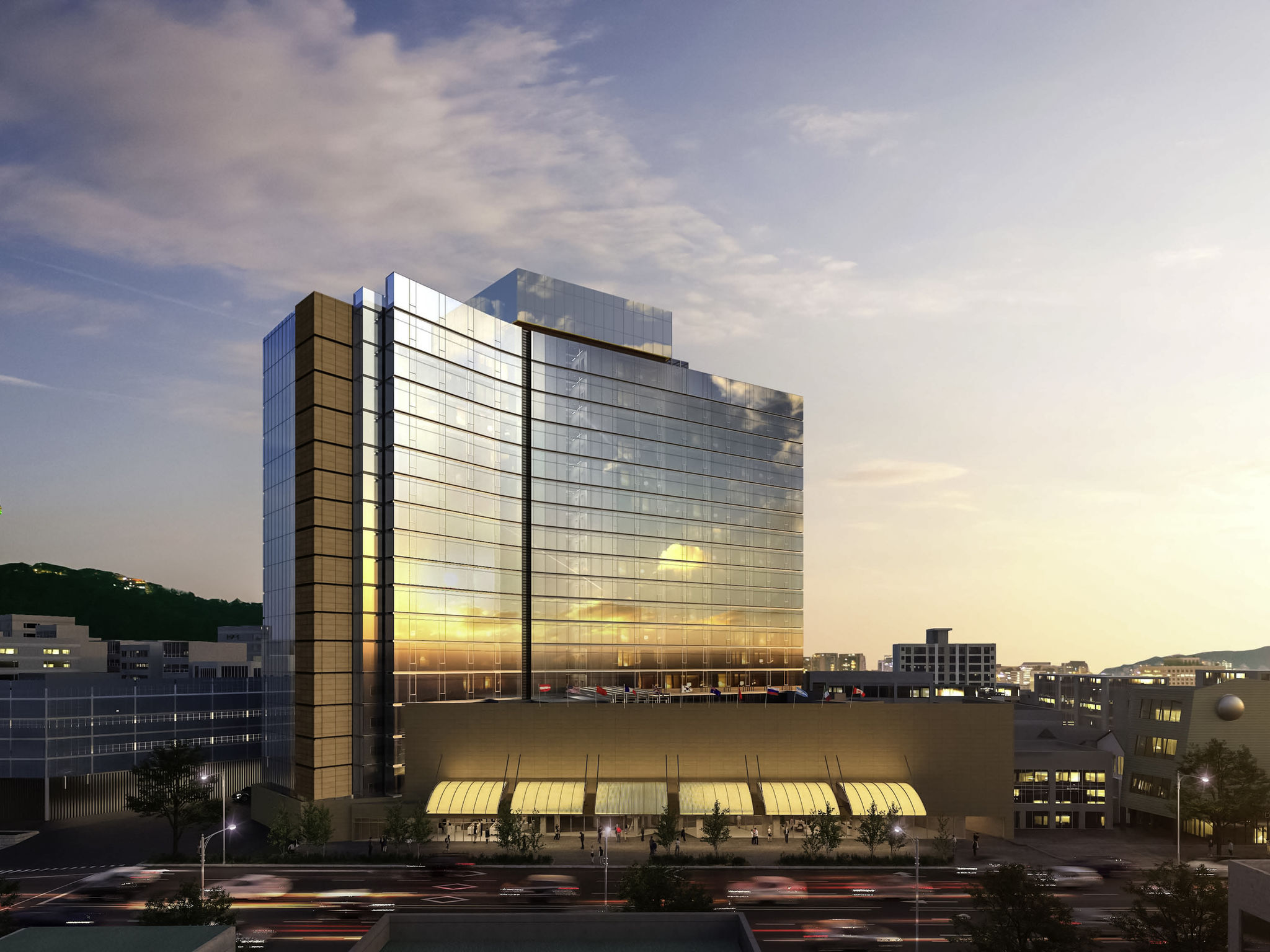 Hôtel - Grand Ambassador Seoul - Associated Pullman