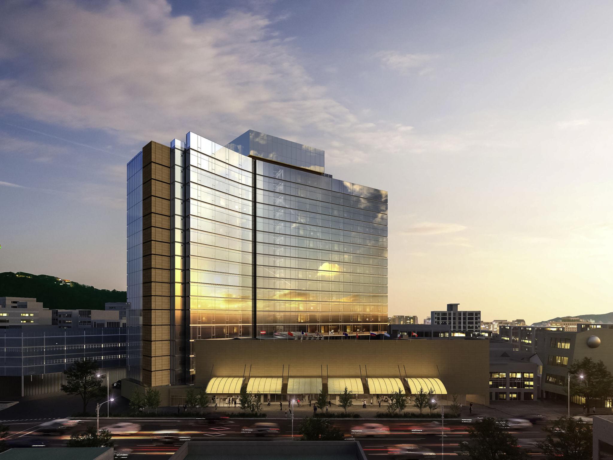 Отель — Гран Амбассадор Сеул (под управлением Pullman)
