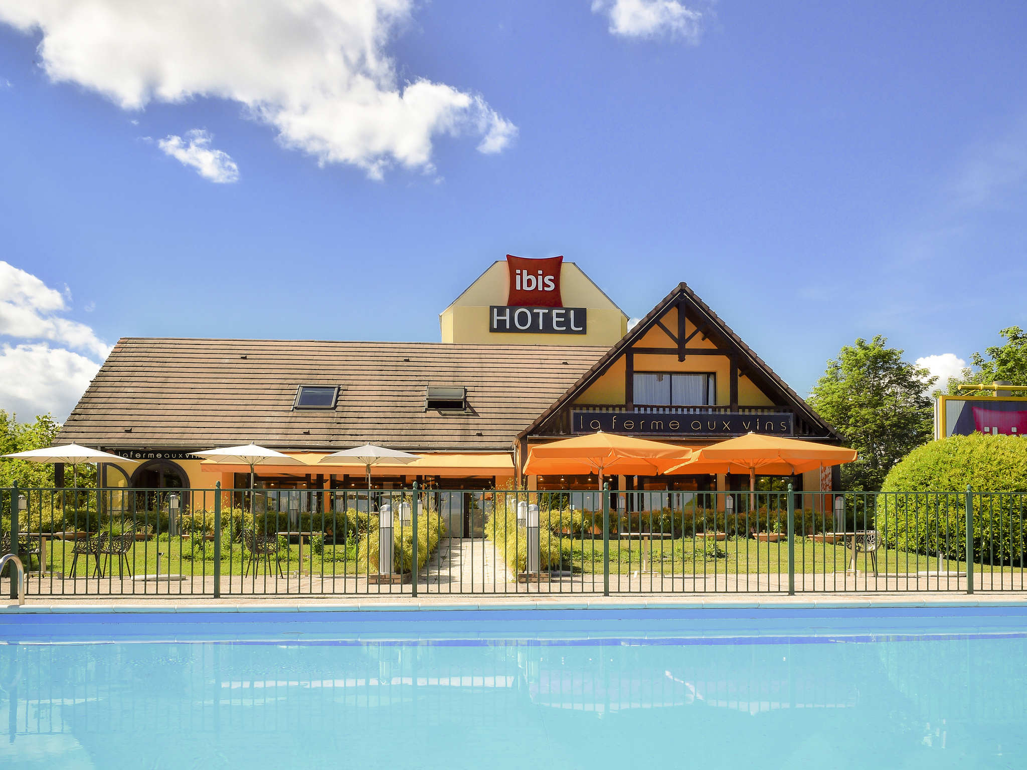 酒店 – 宜必思博纳 La Ferme aux Vins 酒店