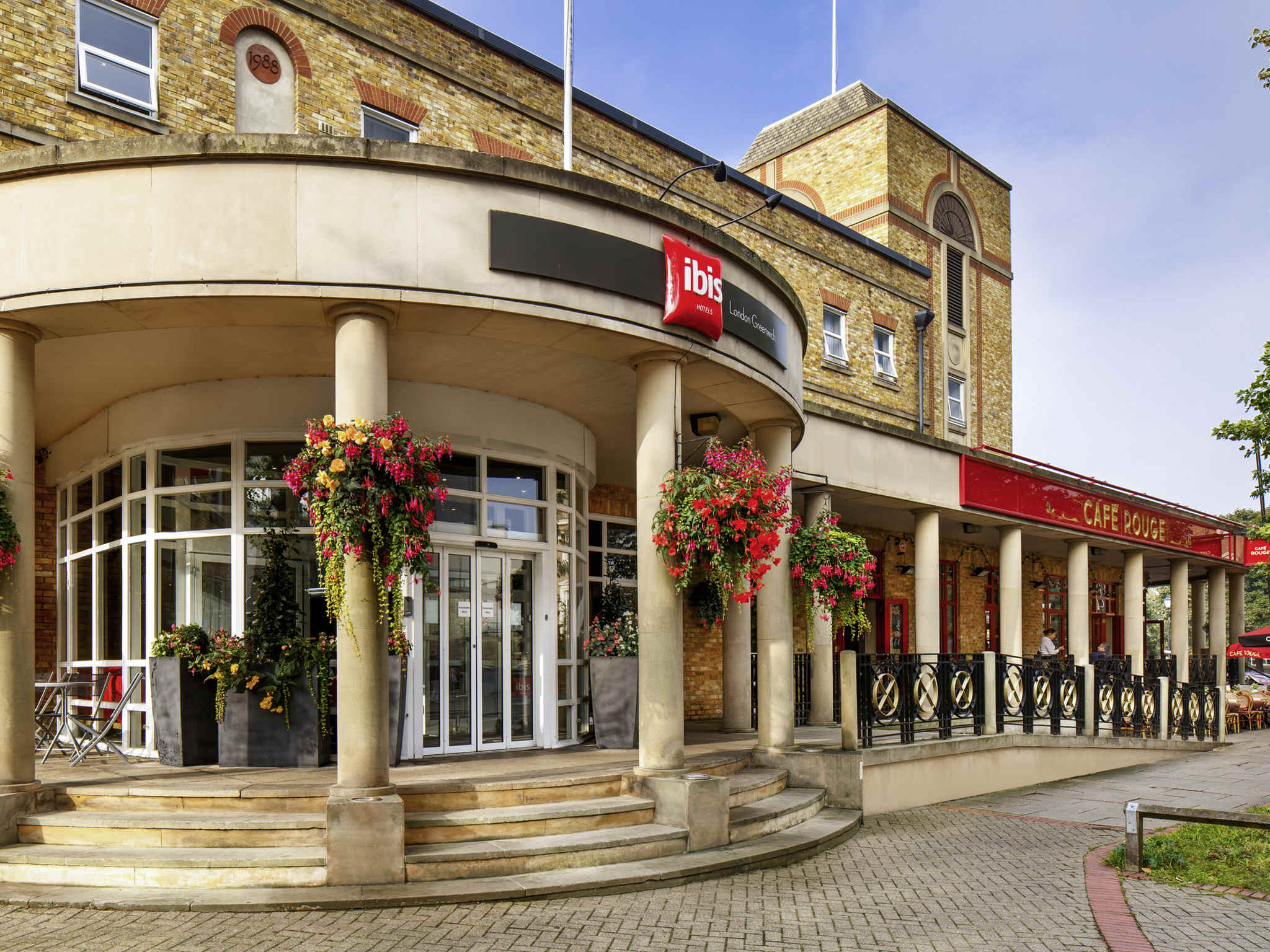 Ibis london greenwich well equipped hotel inlondon for Hotel adagio londres