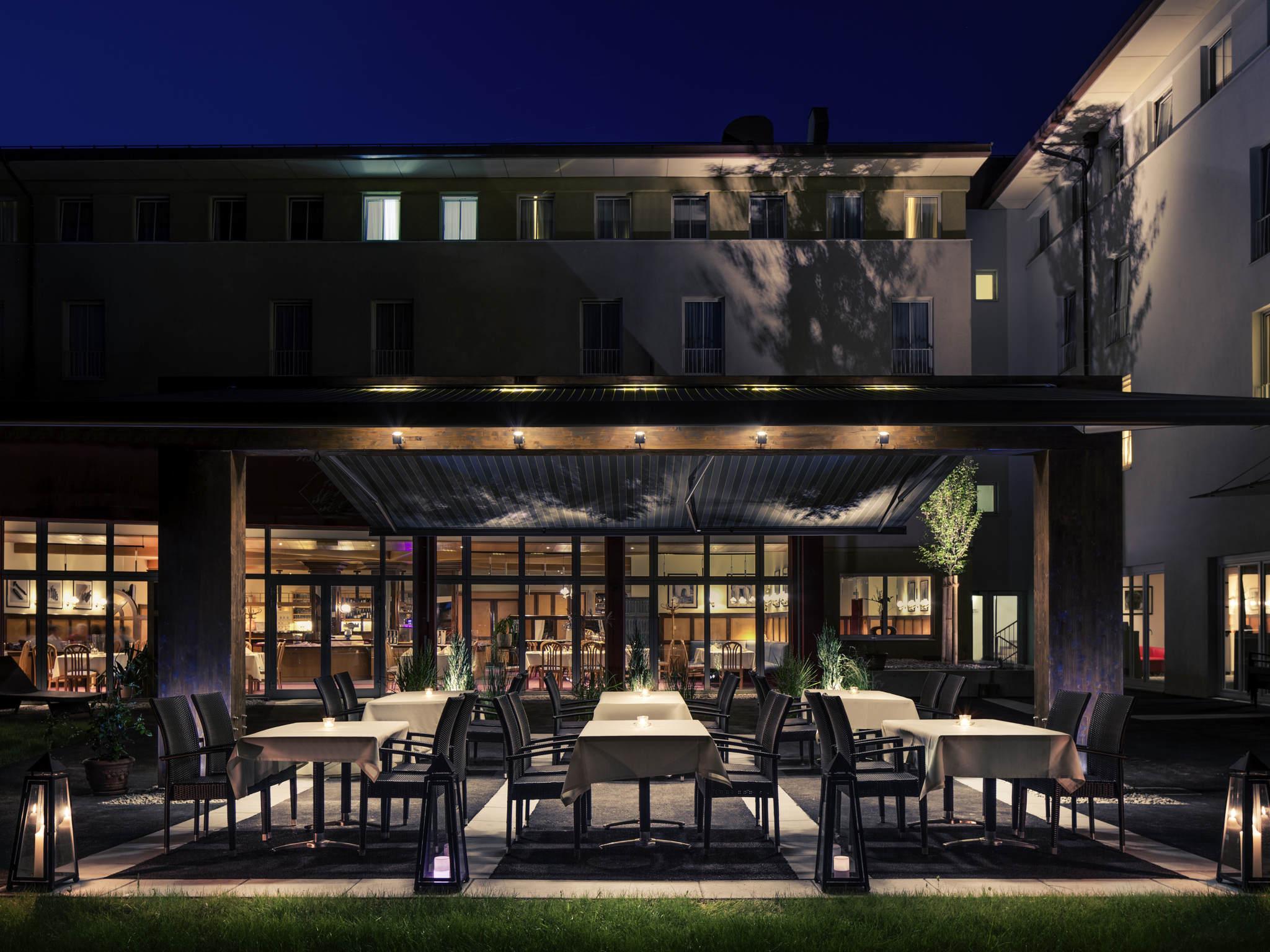 โรงแรม – Hotel Mercure Salzburg City