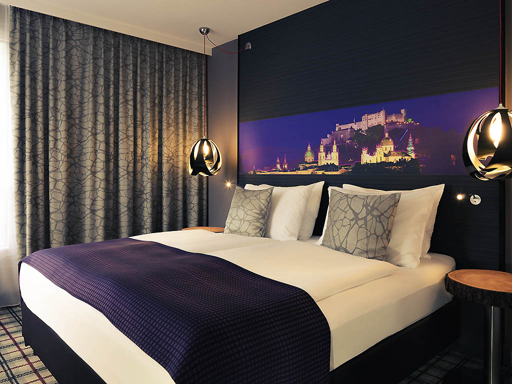 Mercure salzburg city h tel salzbourg ville accor for Chambre avec lit king size