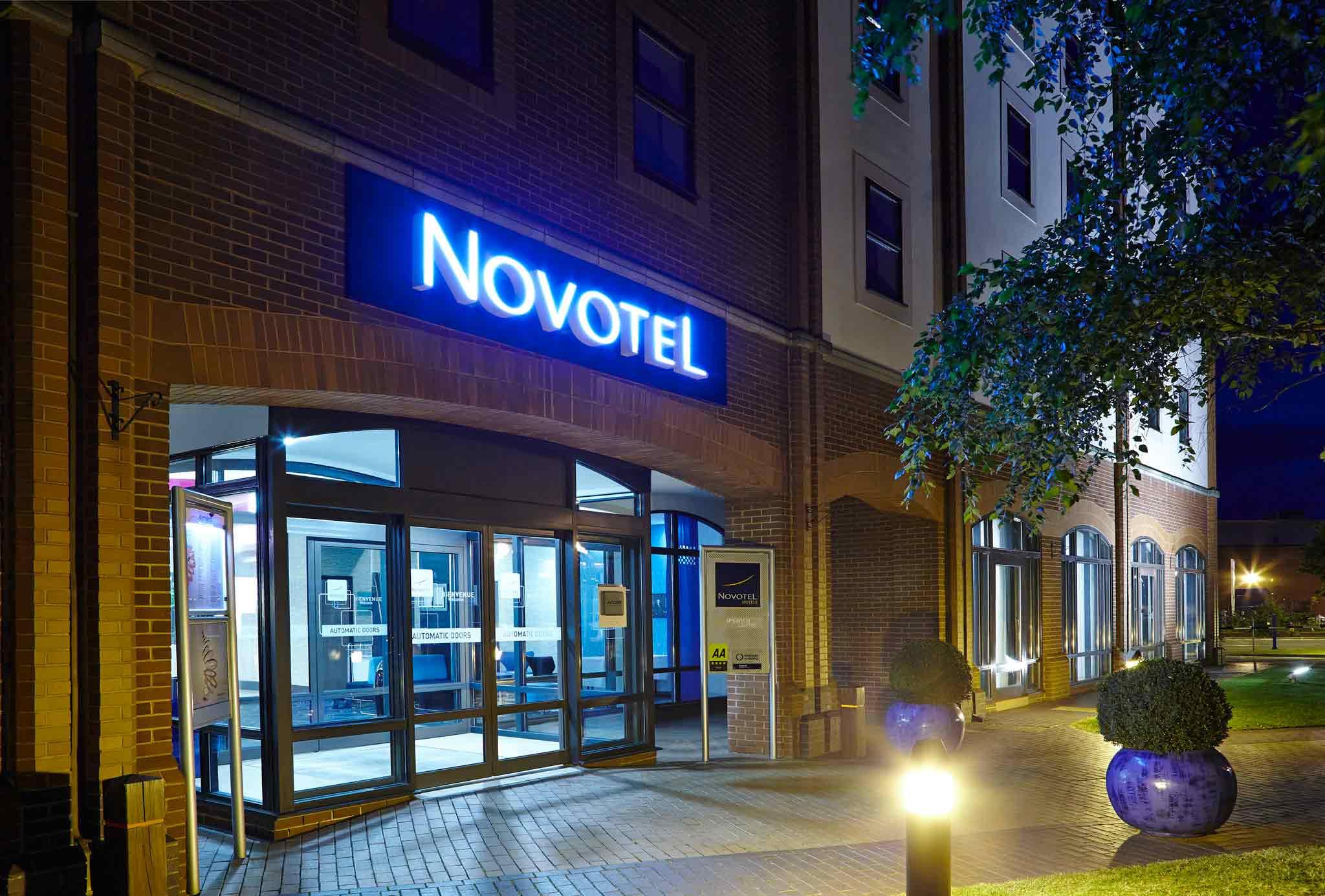 Hotell – Novotel Ipswich Centre