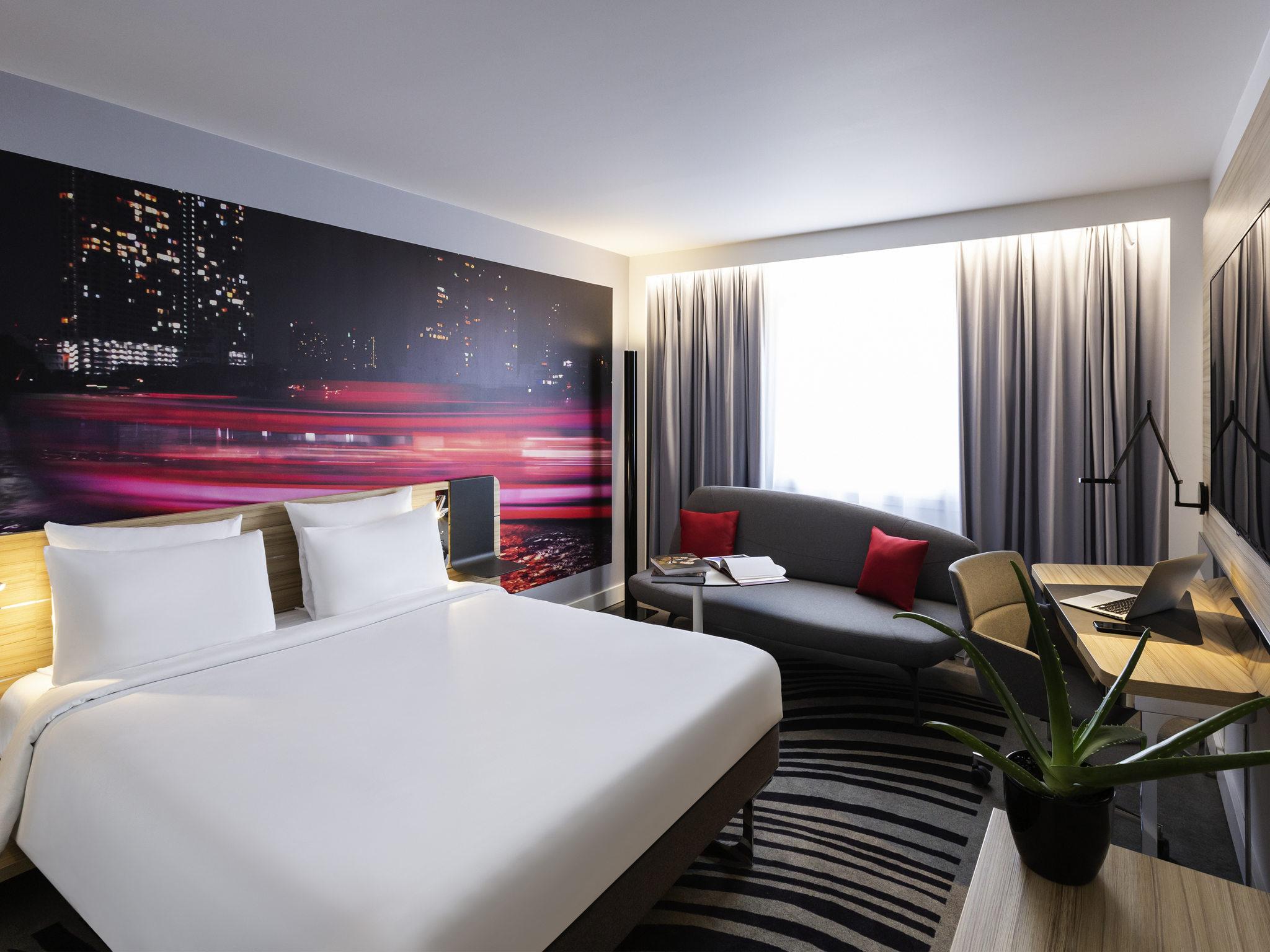 Отель — Novotel Бордо Центр