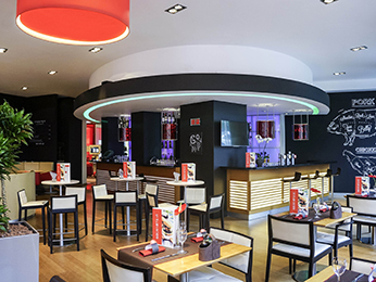 Restaurante - Novotel Brussels off Grand Place