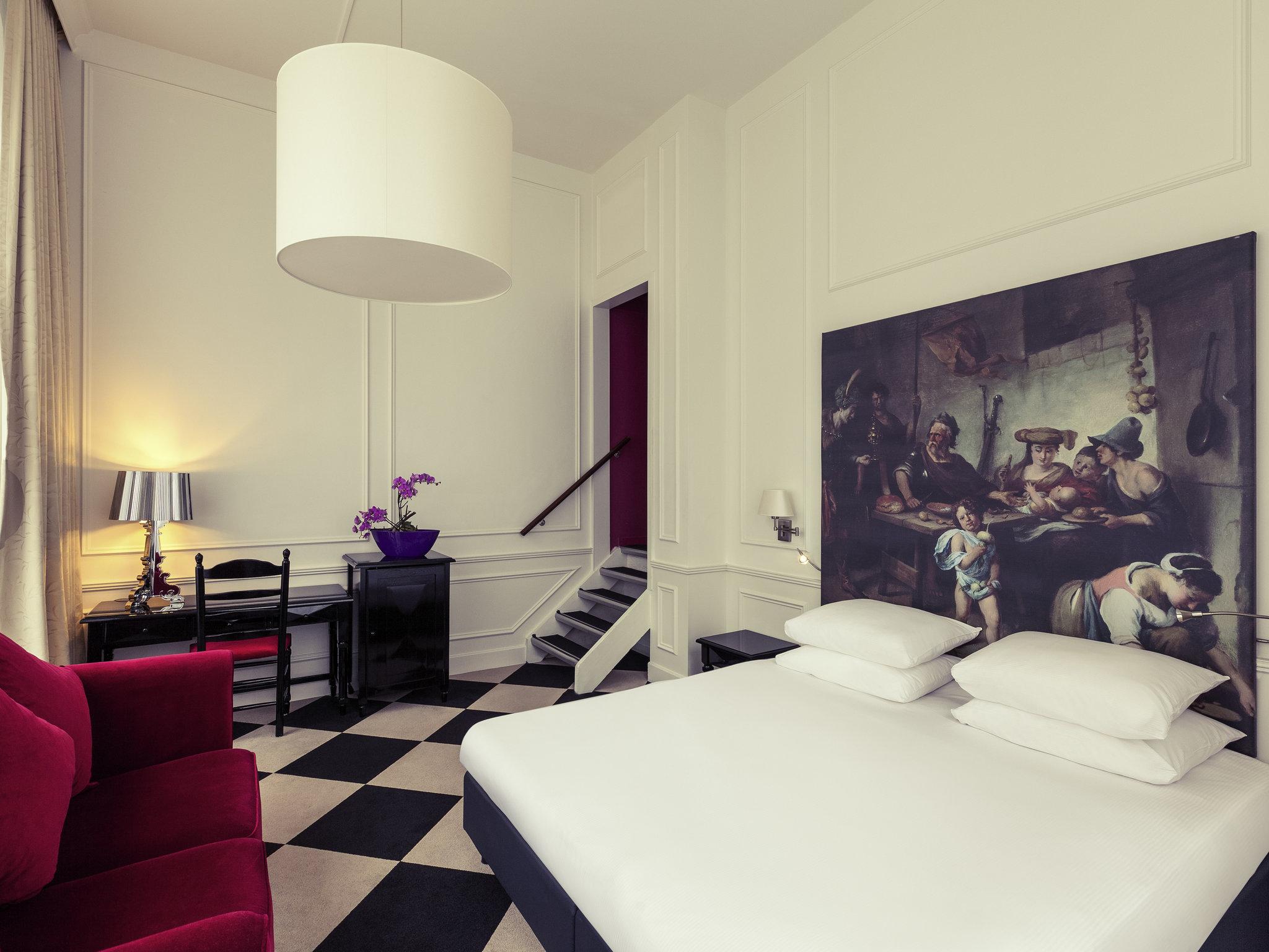 Отель — MERCURE Амстердам Центр Канал Дистрикт