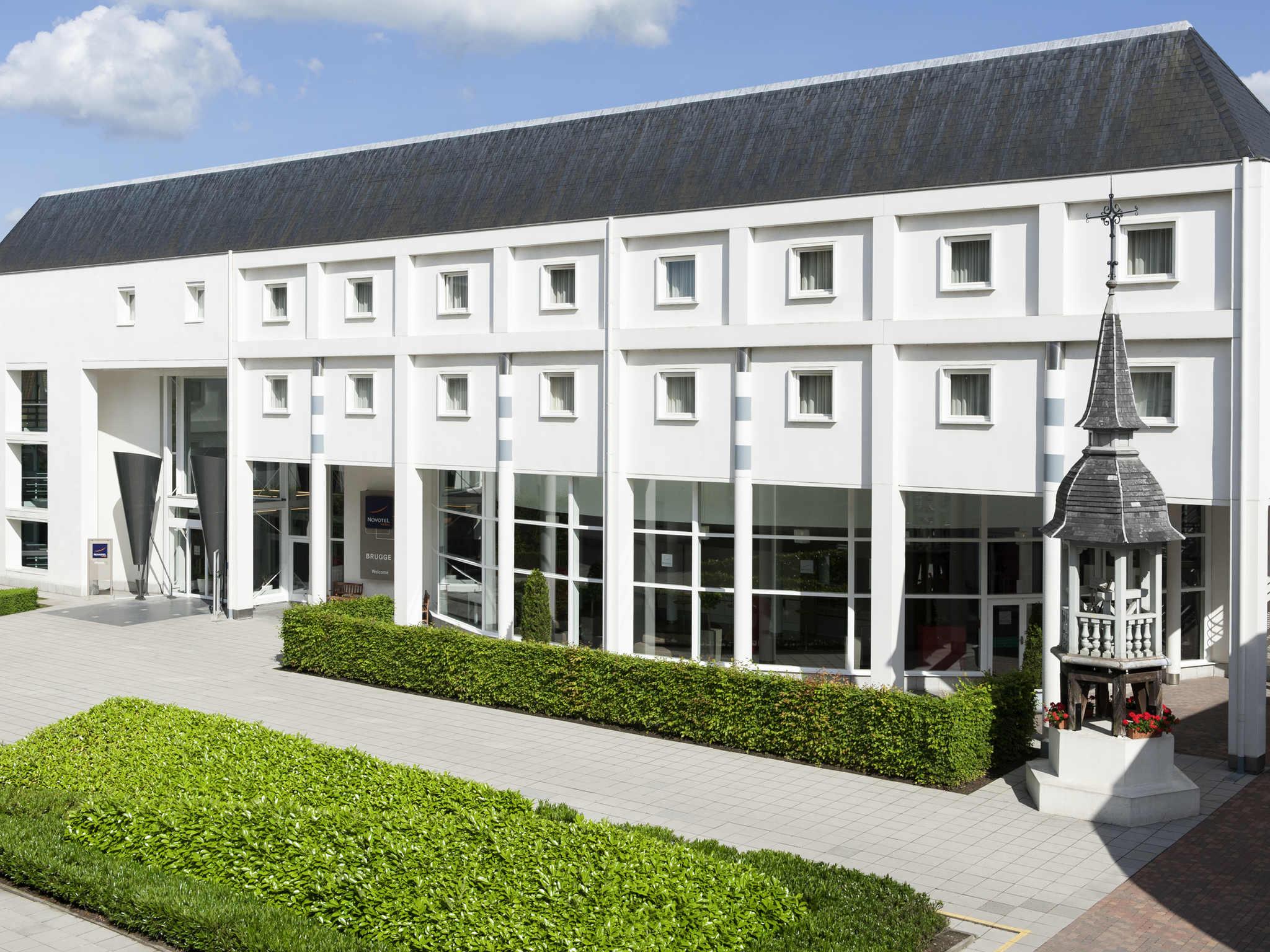 호텔 – Novotel Brugge Centrum