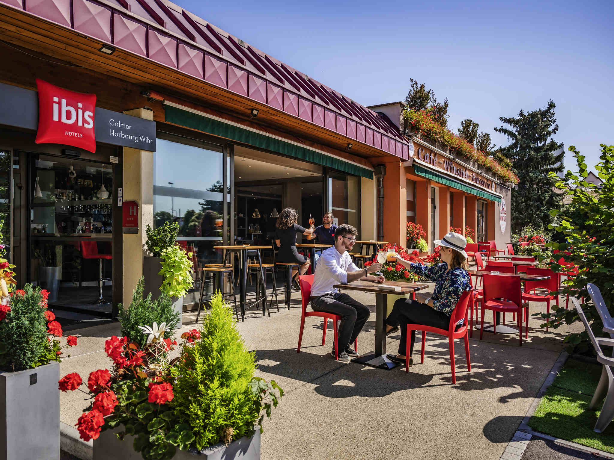 Отель — ibis Colmar Horbourg-Wihr