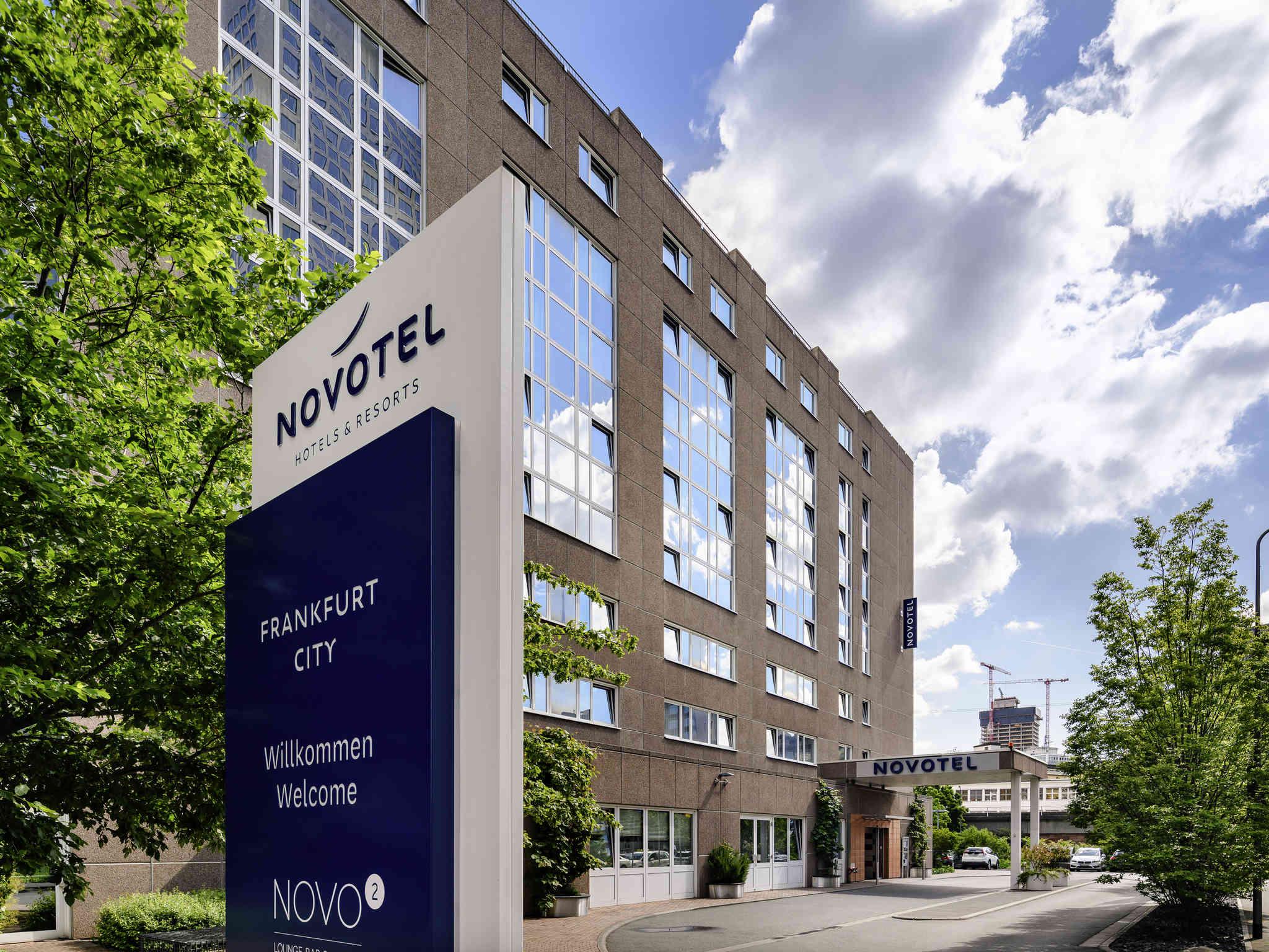 Отель — Novotel Франкфурт Сити