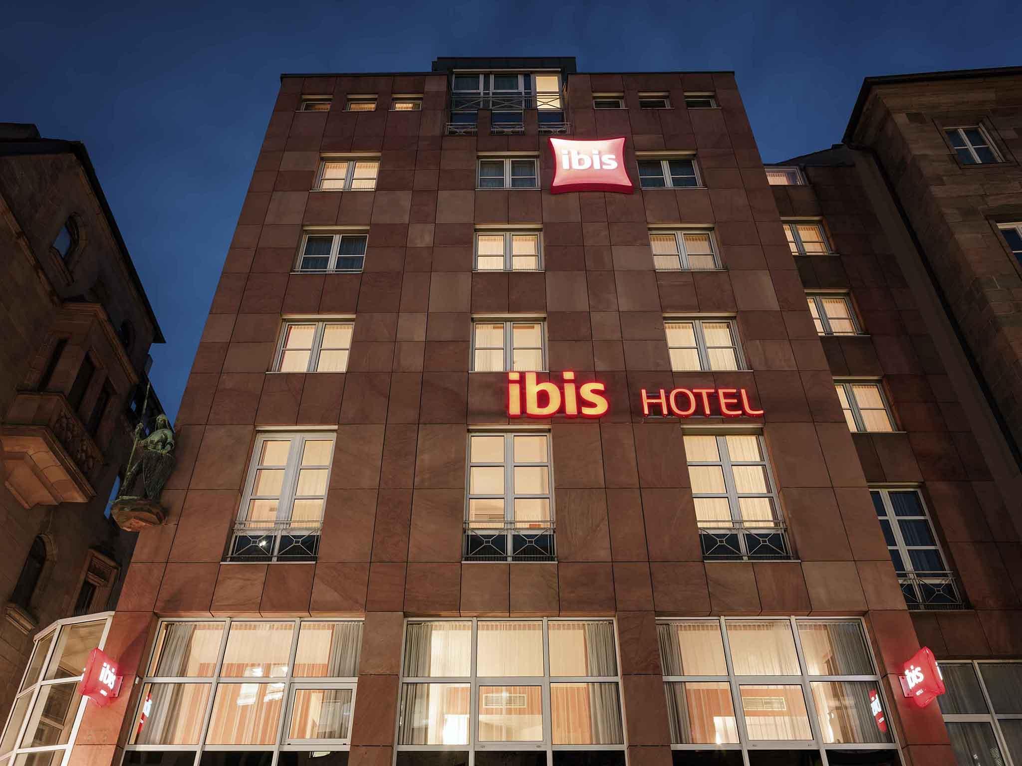 Отель — ibis Нюрнберг Альтштадт