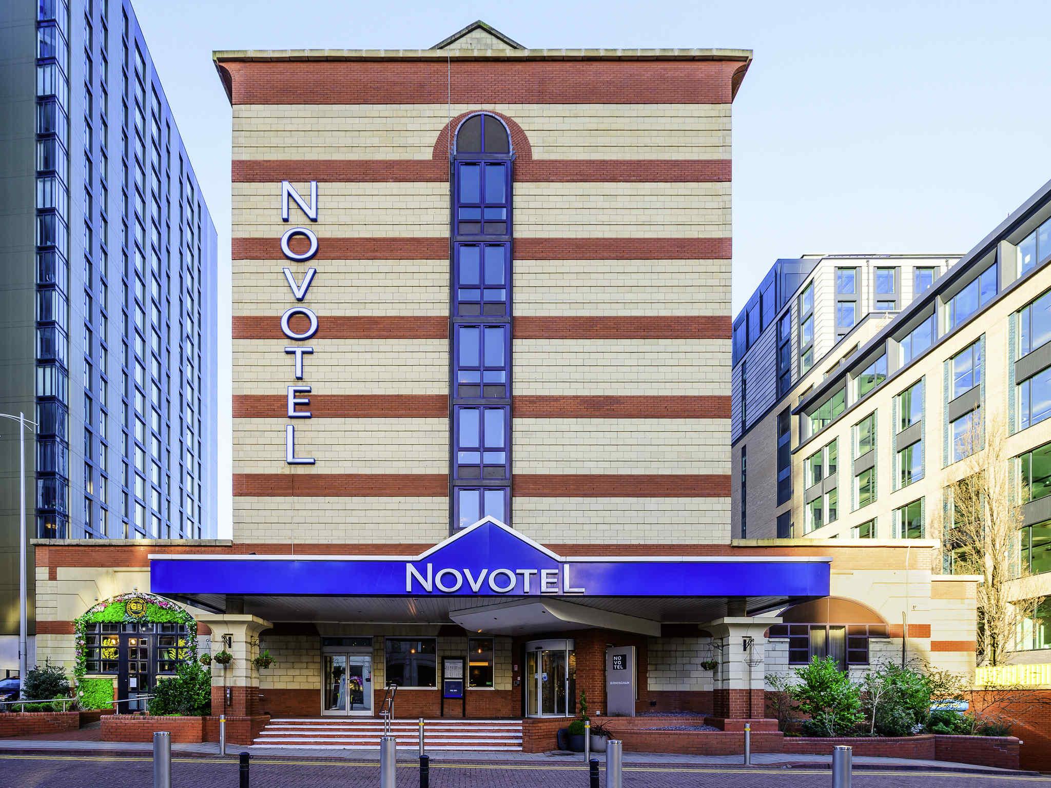 Отель — Novotel Бирмингем Центр