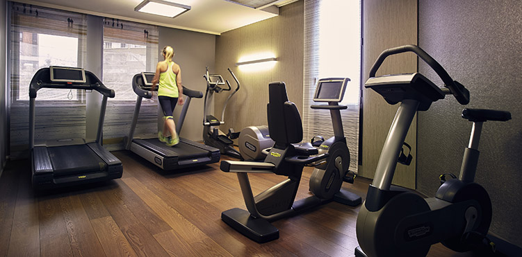 Golf fitness amenities pullman toulouse centre - Best cardio equipment for small spaces property ...
