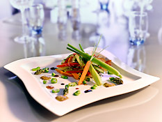 Authentic bistro cuisine reinvented by our Chef, Romuald Auchaire